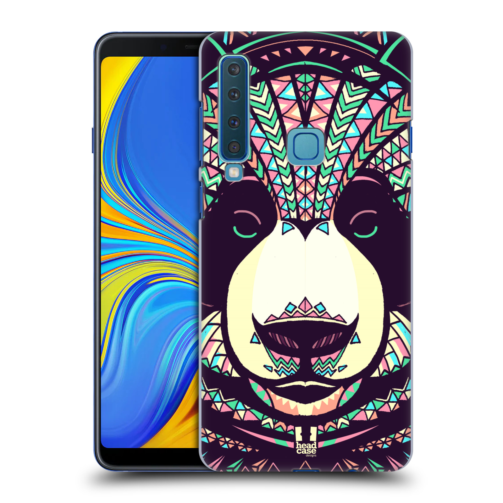 Plastové pouzdro na mobil Samsung Galaxy A9 (2018) - Head Case - AZTEC PANDA