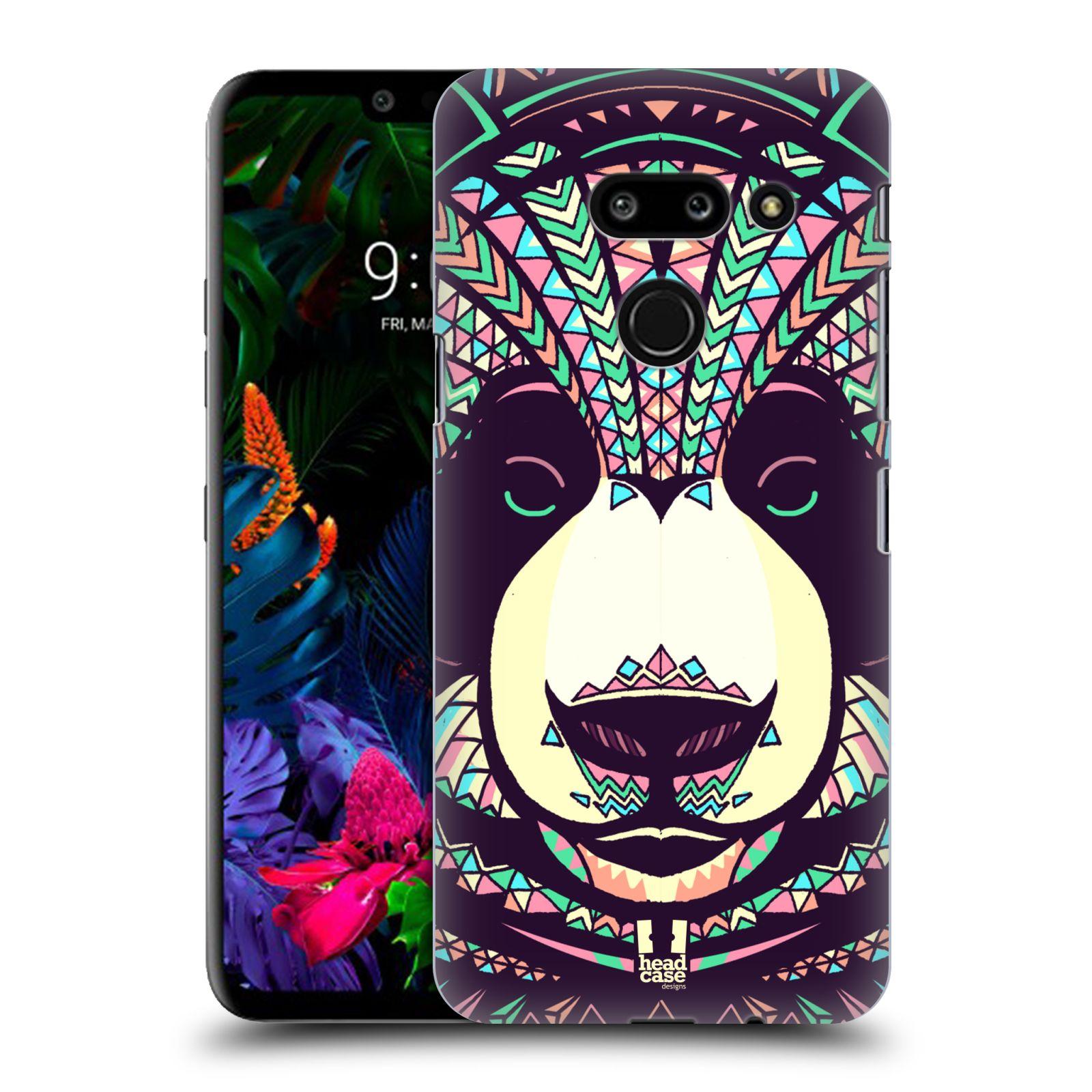 Plastové pouzdro na mobil LG G8 ThinQ - Head Case - AZTEC PANDA