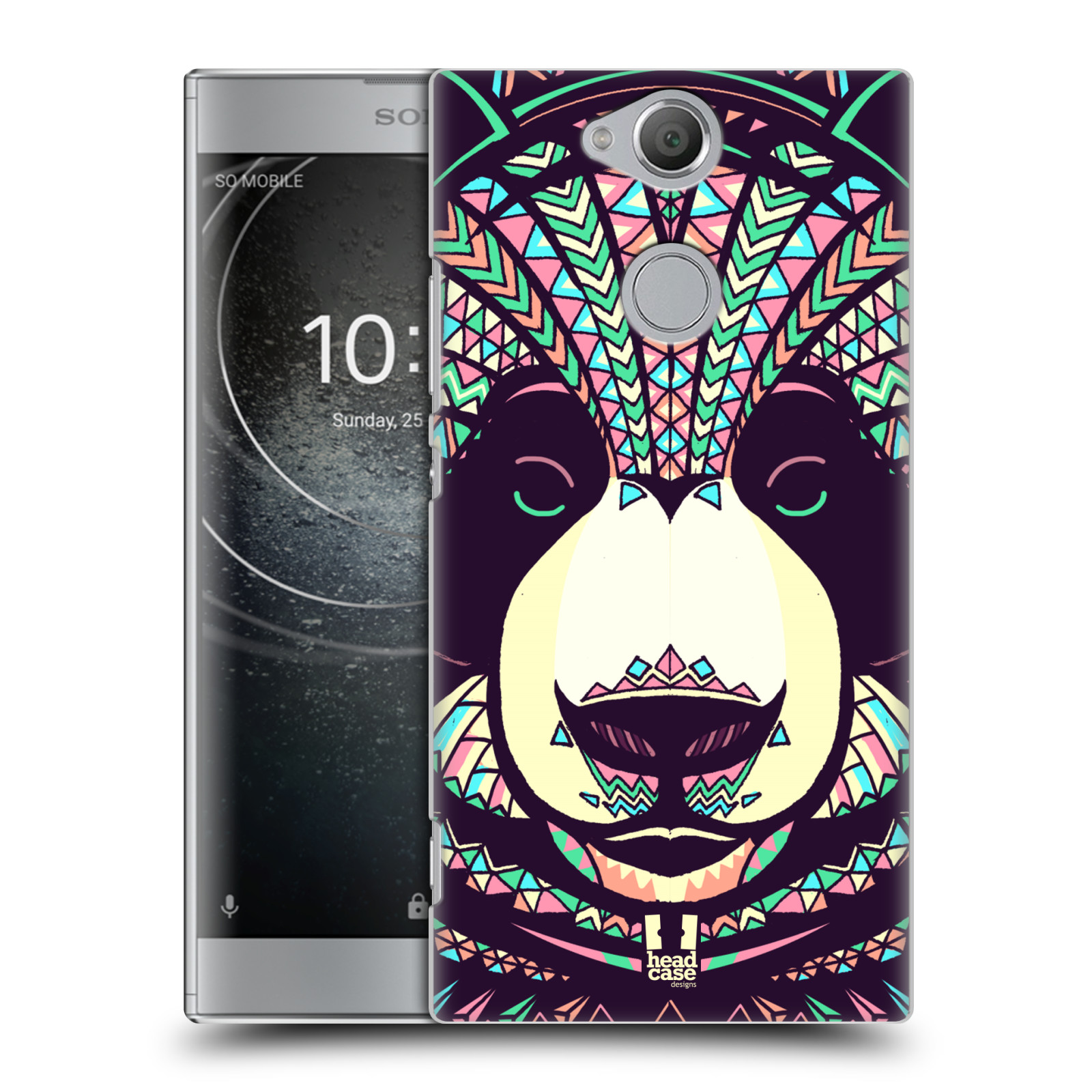 Plastové pouzdro na mobil Sony Xperia XA2 - Head Case - AZTEC PANDA