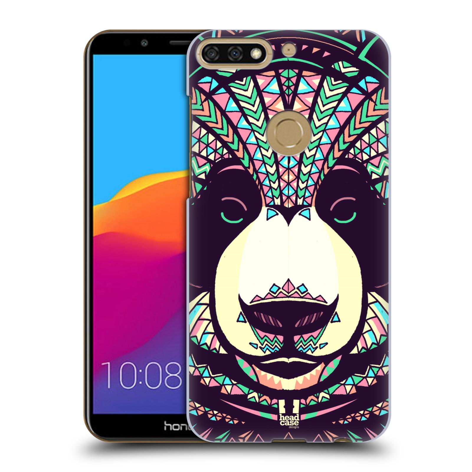 Plastové pouzdro na mobil Huawei Y7 Prime 2018 - Head Case - AZTEC PANDA