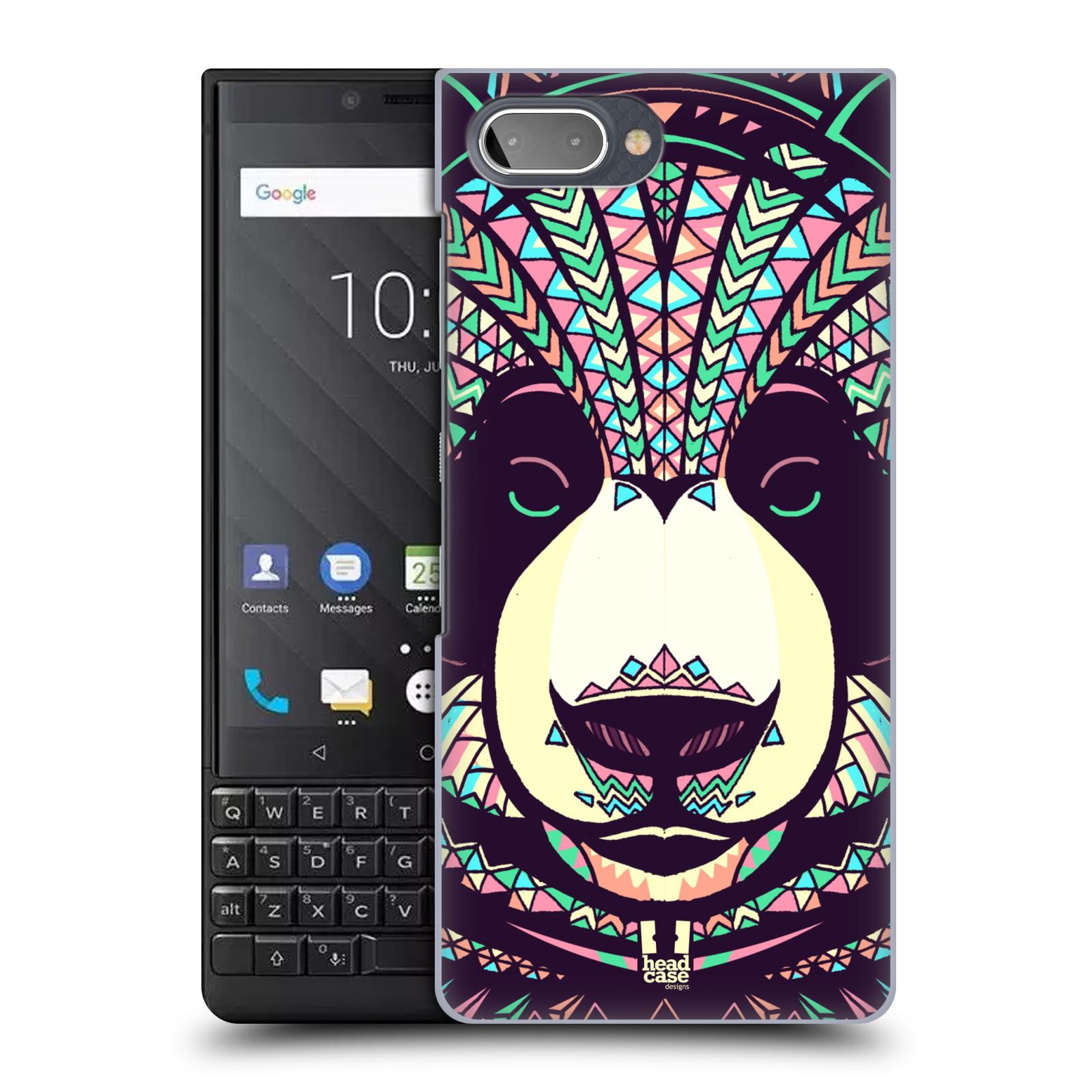 Plastové pouzdro na mobil Blackberry Key 2 - Head Case - AZTEC PANDA
