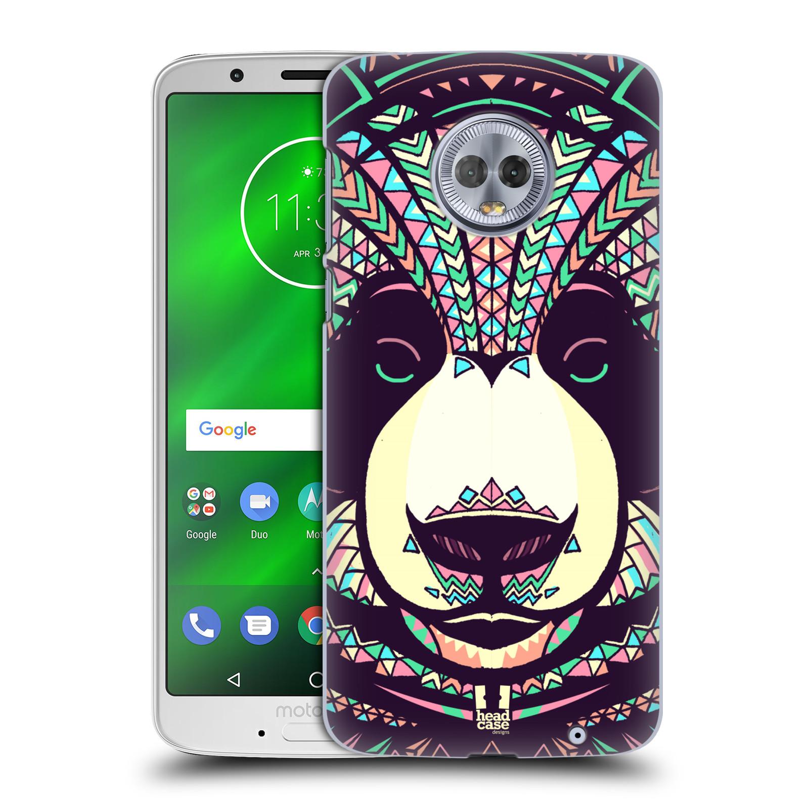 Plastové pouzdro na mobil Motorola Moto G6 Plus - Head Case - AZTEC PANDA