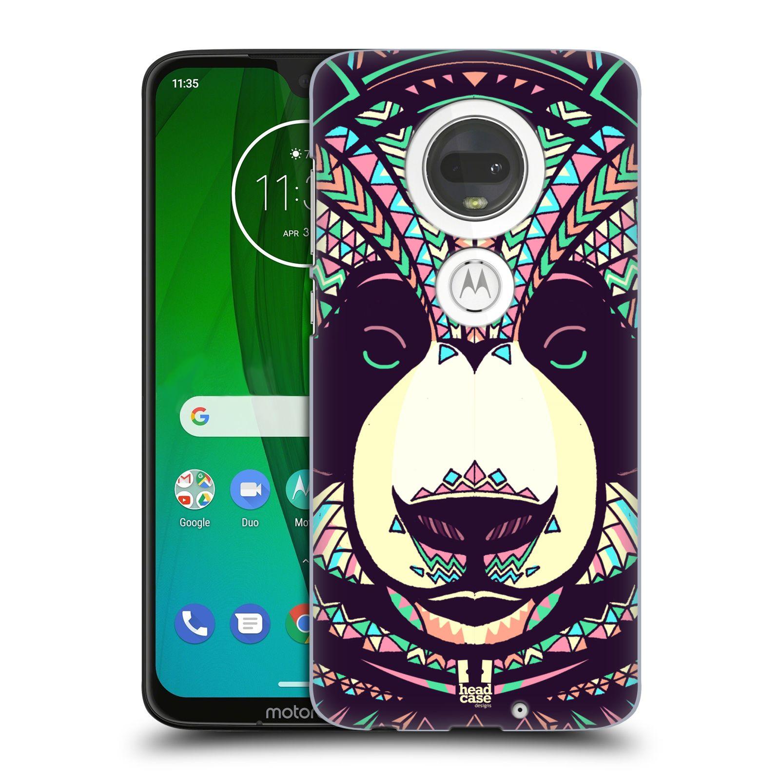 Plastové pouzdro na mobil Motorola Moto G7 - Head Case - AZTEC PANDA