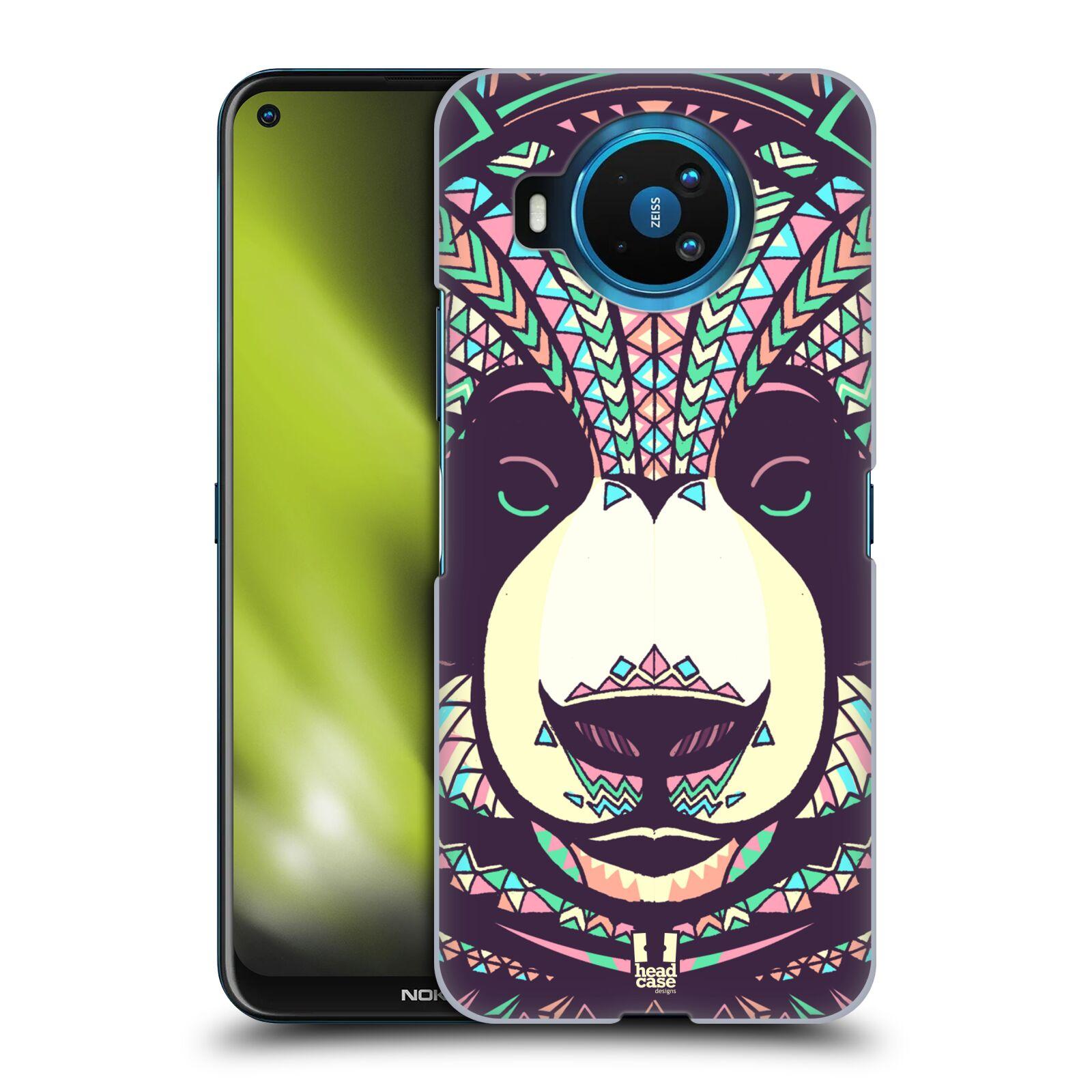 Plastové pouzdro na mobil Nokia 8.3 5G - Head Case - AZTEC PANDA