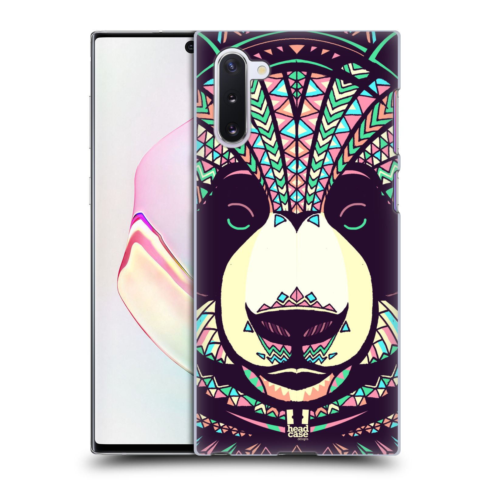 Plastové pouzdro na mobil Samsung Galaxy Note 10 - Head Case - AZTEC PANDA