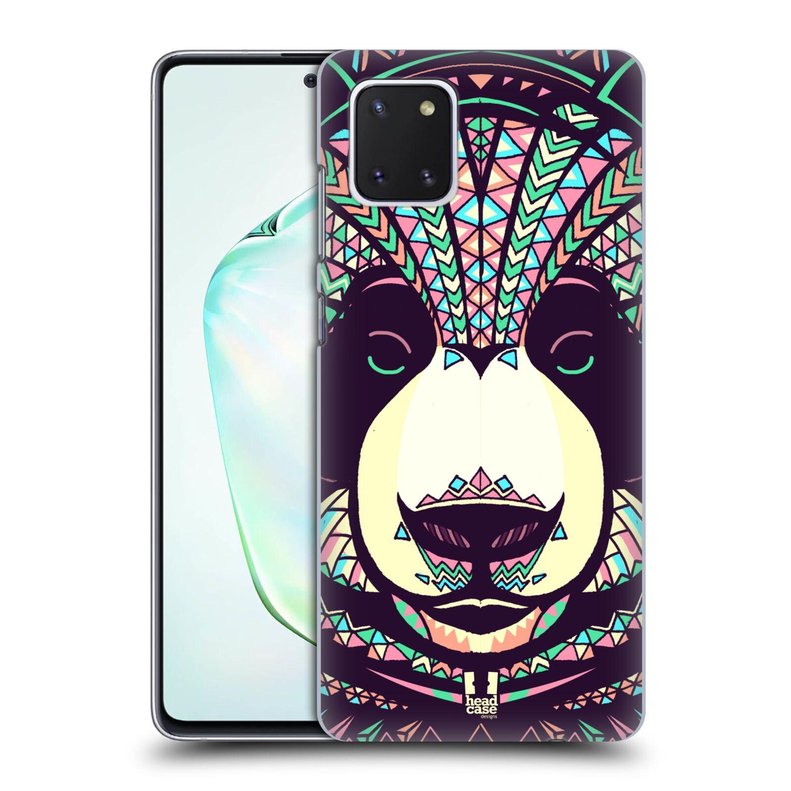 Plastové pouzdro na mobil Samsung Galaxy Note 10 Lite - Head Case - AZTEC PANDA
