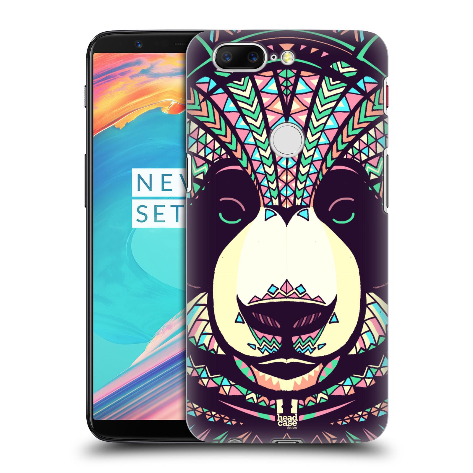 Plastové pouzdro na mobil OnePlus 5T - Head Case - AZTEC PANDA