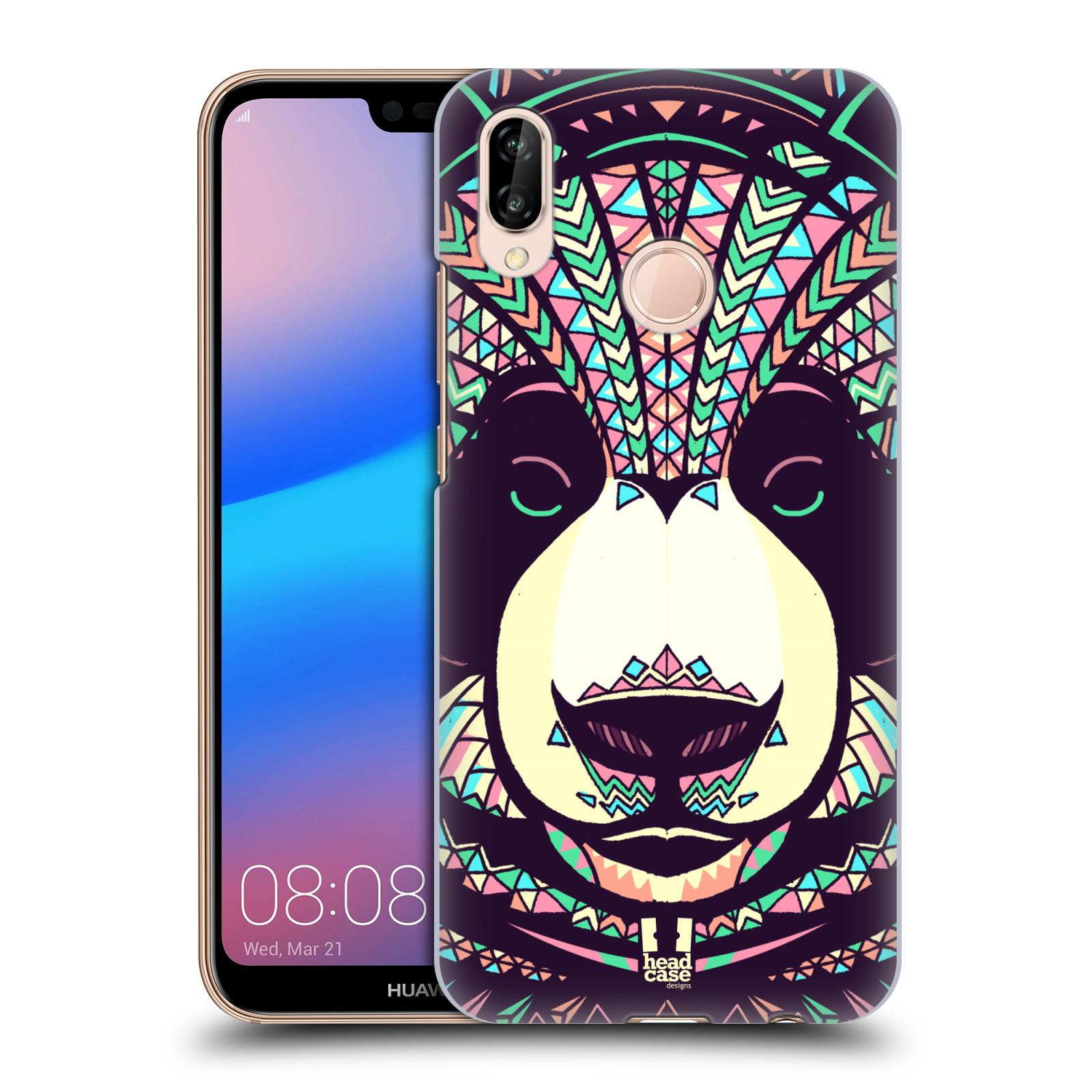 Plastové pouzdro na mobil Huawei P20 Lite - Head Case - AZTEC PANDA