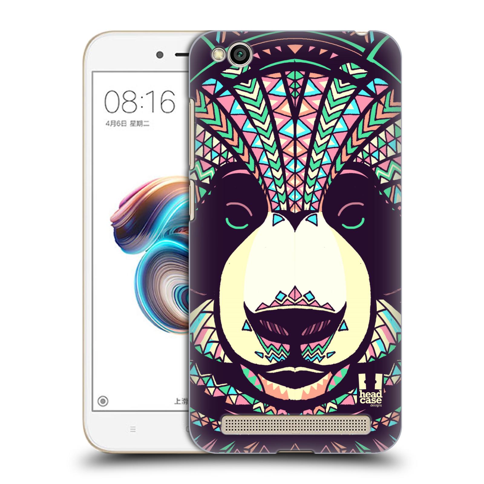 Plastové pouzdro na mobil Xiaomi Redmi 5A - Head Case - AZTEC PANDA