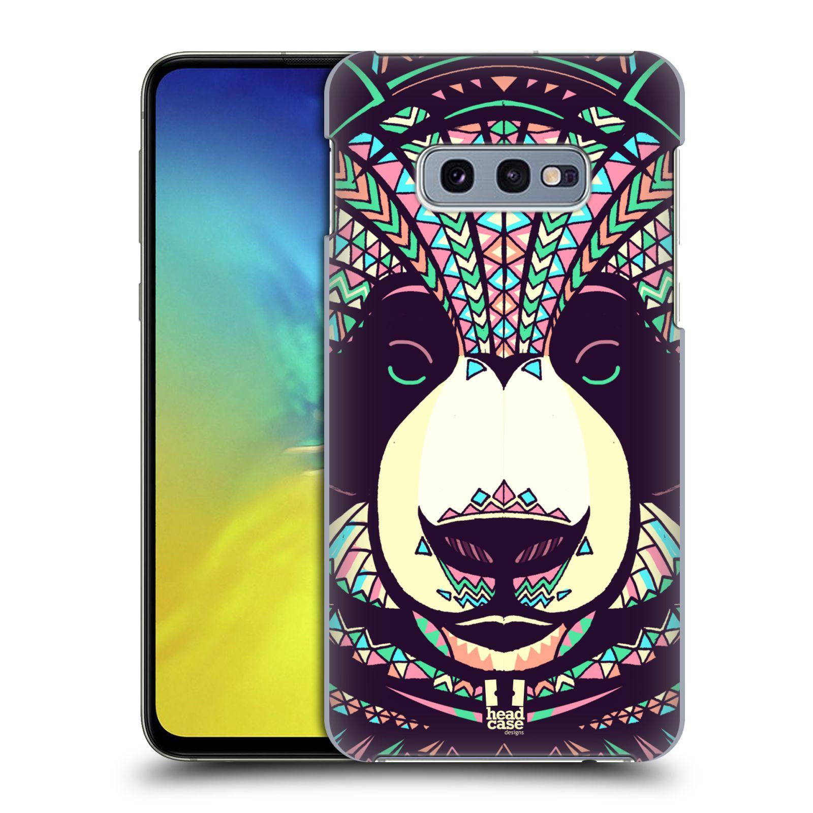 Plastové pouzdro na mobil Samsung Galaxy S10e - Head Case - AZTEC PANDA