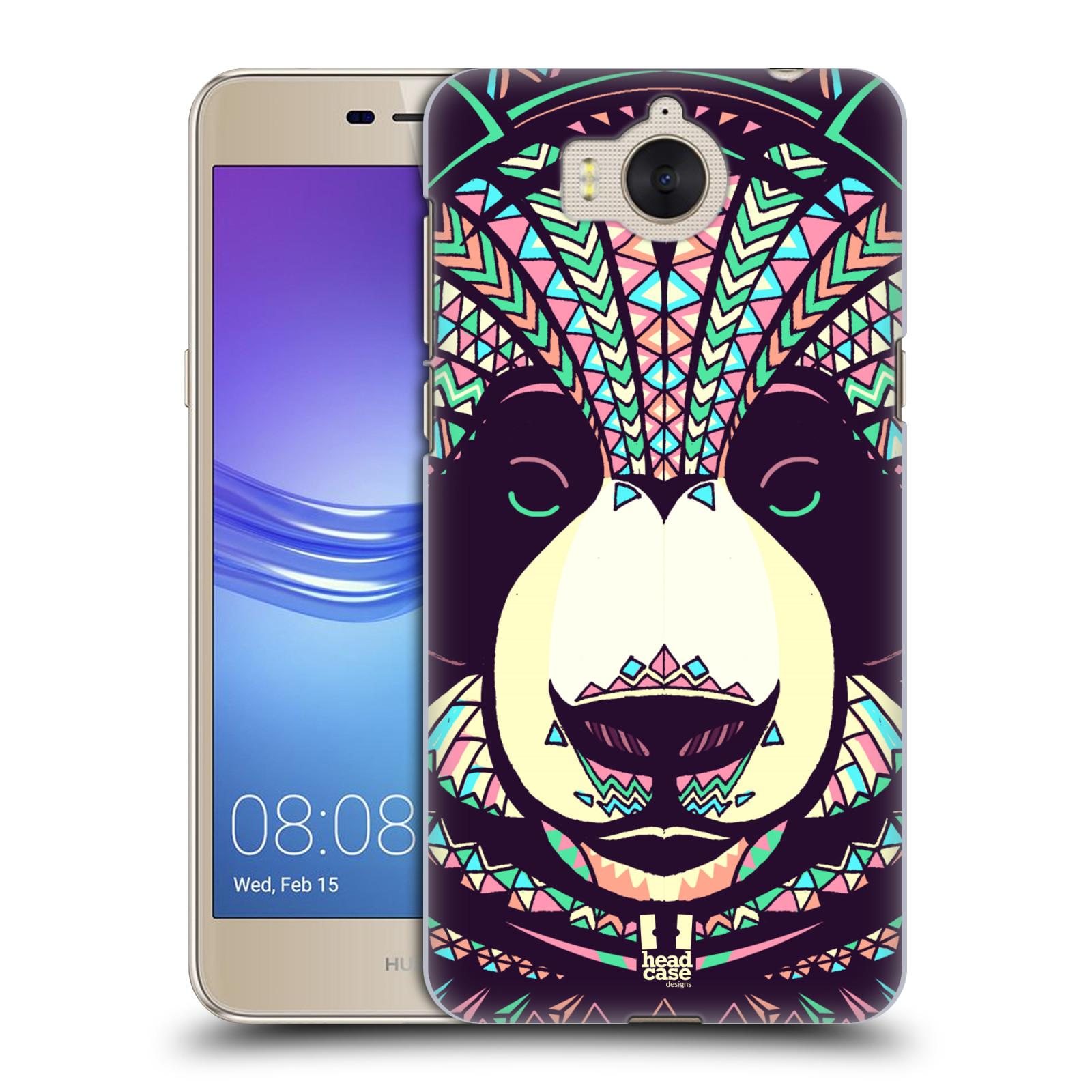 Plastové pouzdro na mobil Huawei Y6 2017 - Head Case - AZTEC PANDA