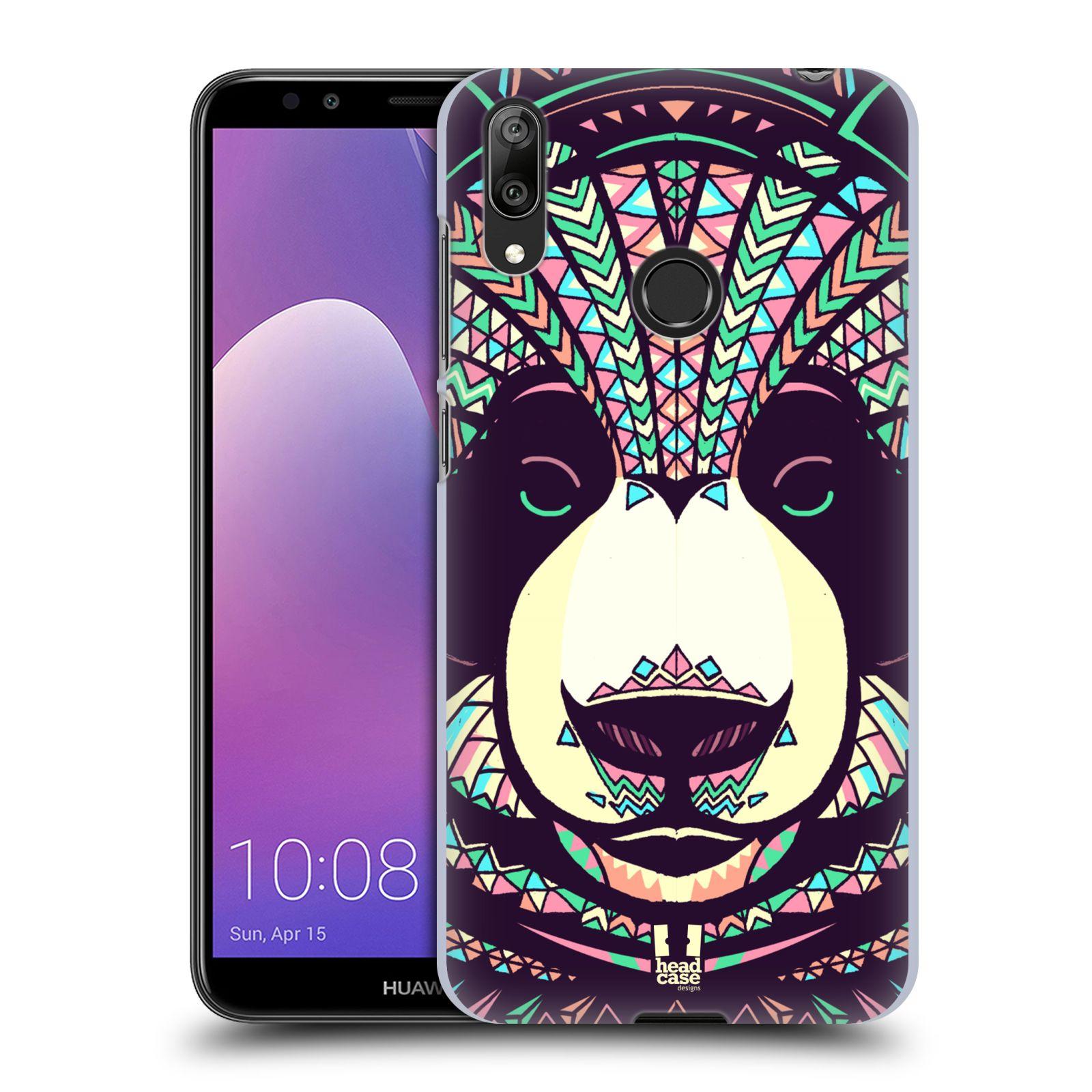 Plastové pouzdro na mobil Huawei Y7 (2019) - Head Case - AZTEC PANDA