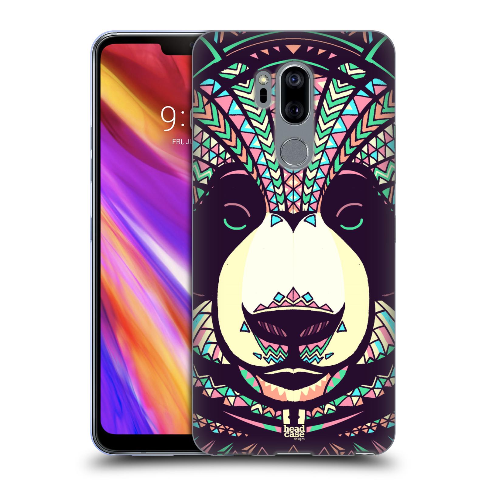 Silikonové pouzdro na mobil LG G7 ThinQ - Head Case - AZTEC PANDA