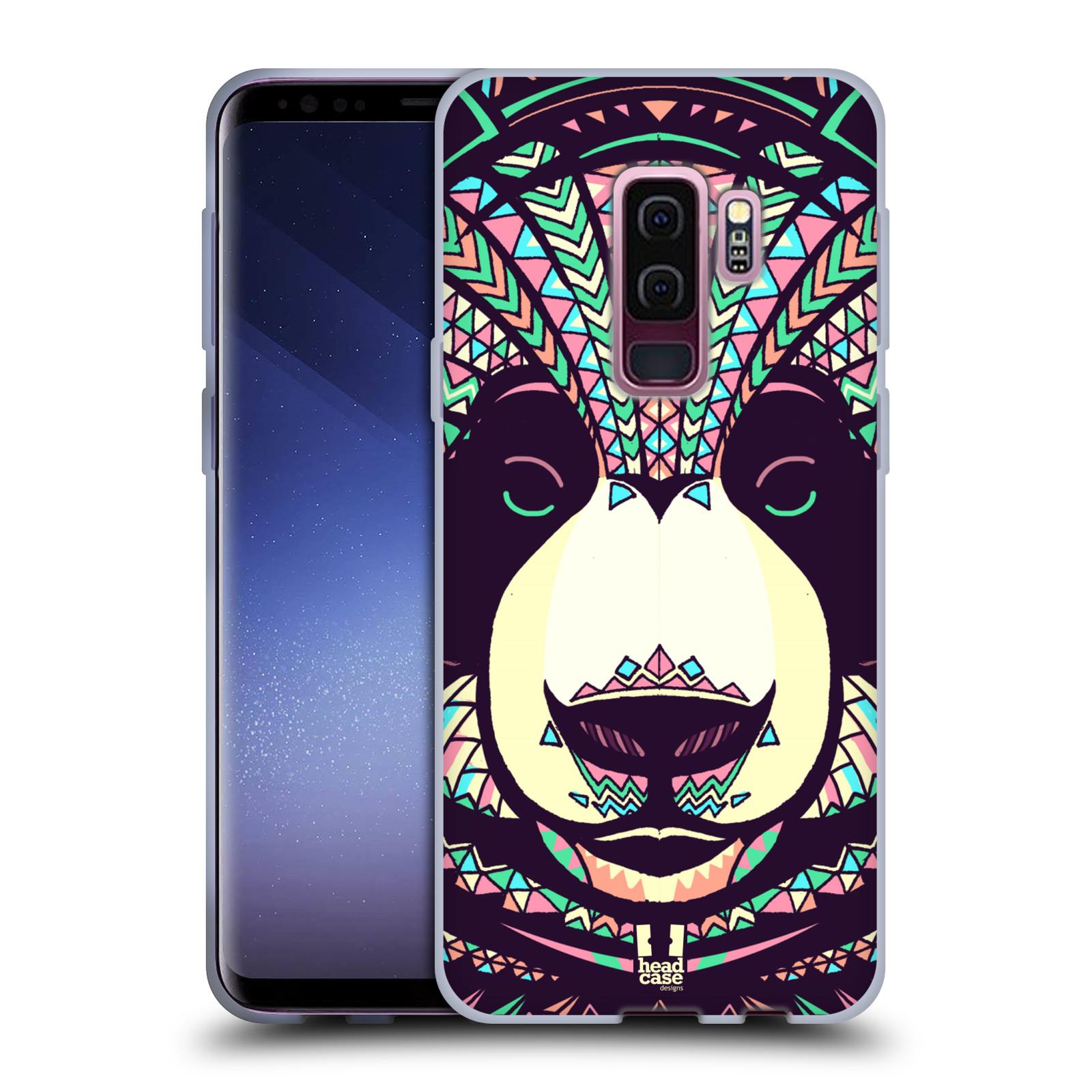 Silikonové pouzdro na mobil Samsung Galaxy S9 Plus - Head Case - AZTEC PANDA
