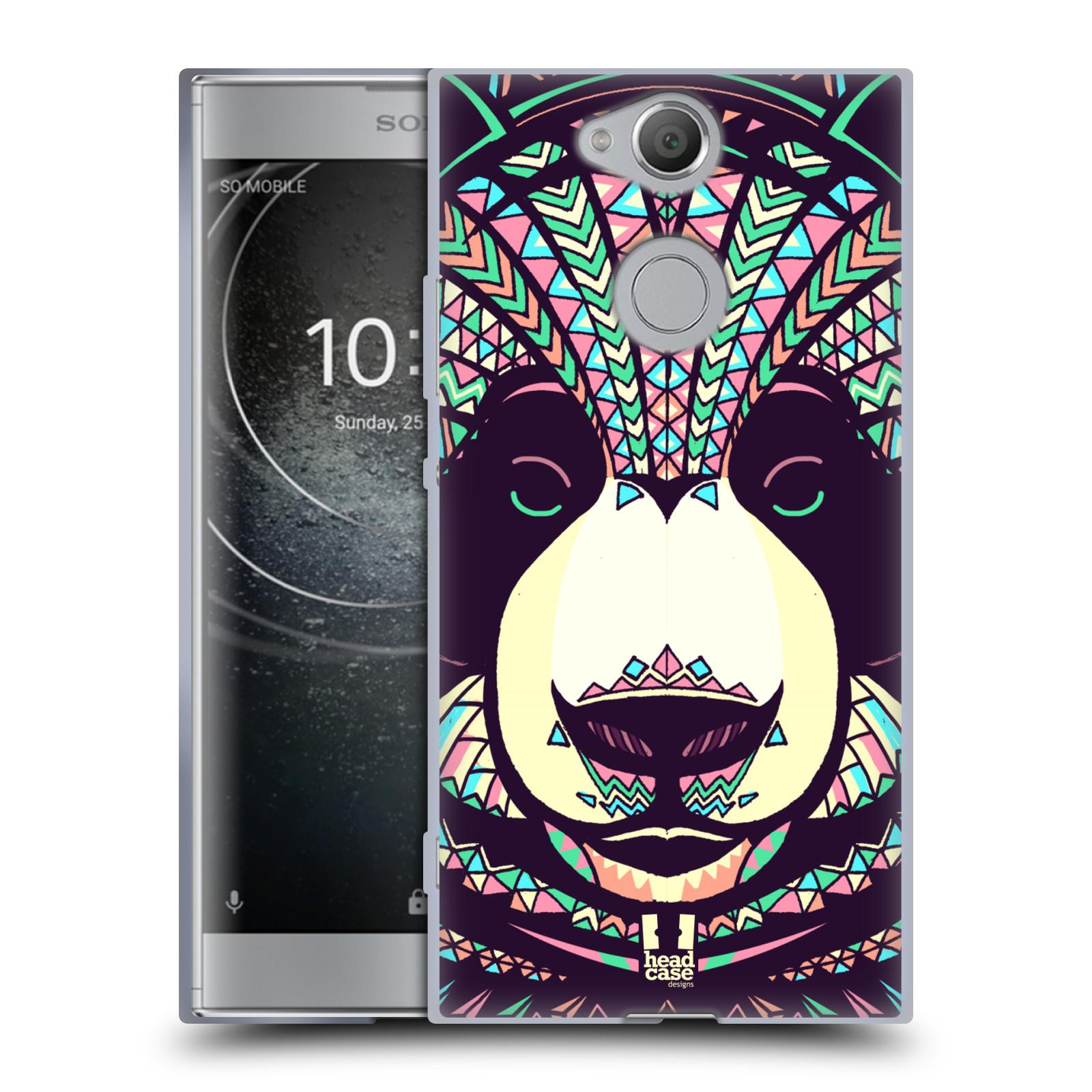 Silikonové pouzdro na mobil Sony Xperia XA2 - Head Case - AZTEC PANDA