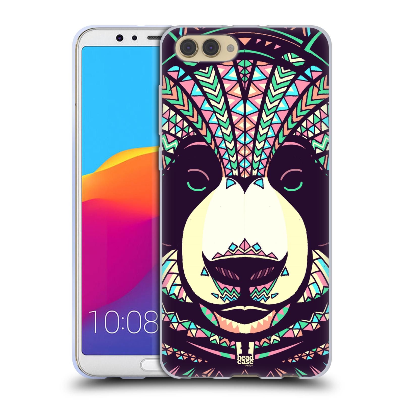 Silikonové pouzdro na mobil Honor View 10 - Head Case - AZTEC PANDA