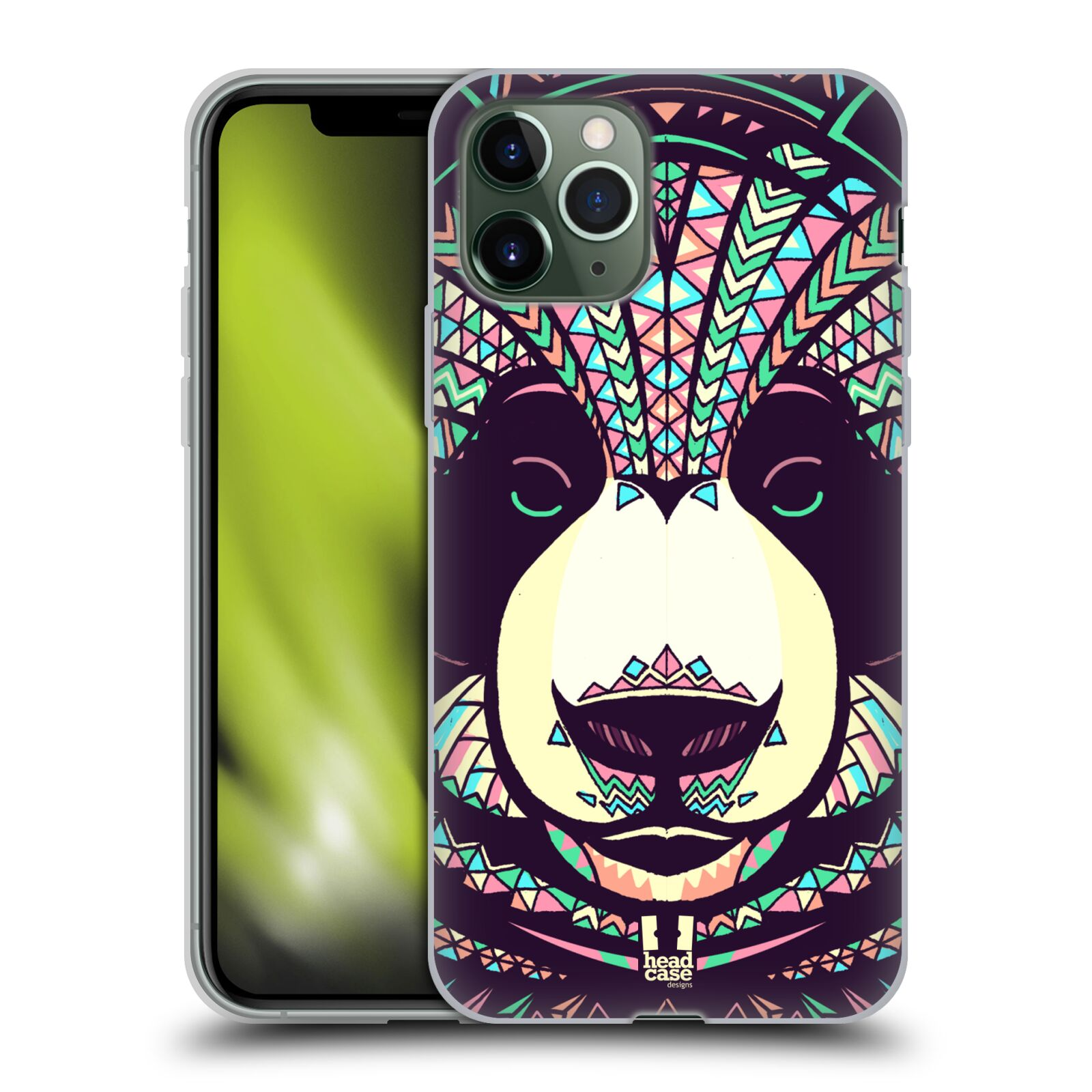 apple iphone 6 kryty | Silikonové pouzdro na mobil Apple iPhone 11 Pro - Head Case - AZTEC PANDA