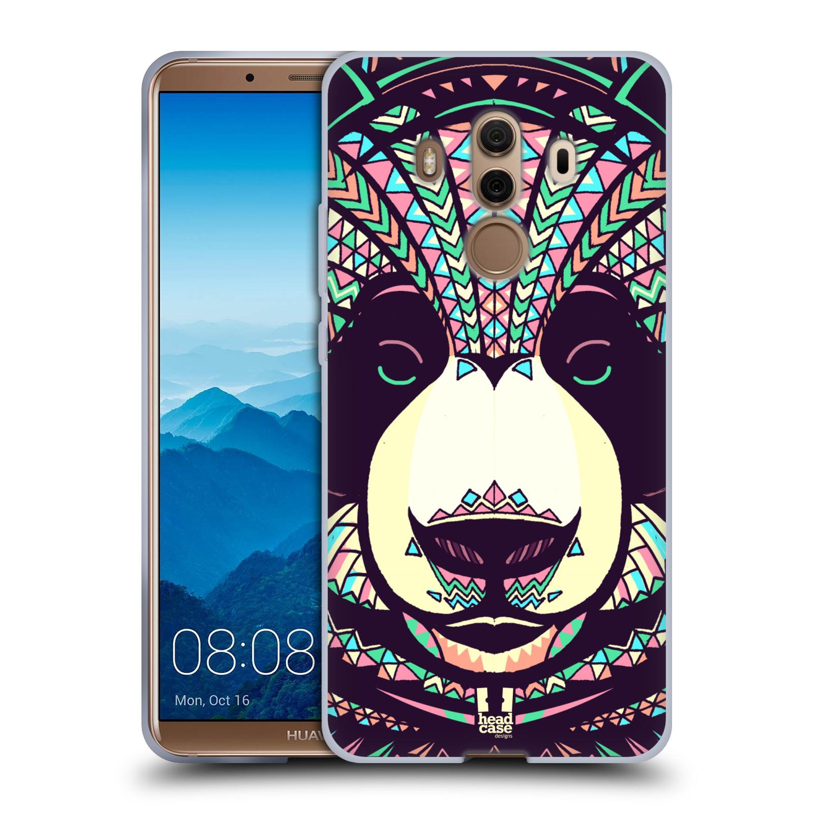 Silikonové pouzdro na mobil Huawei Mate 10 Pro - Head Case - AZTEC PANDA