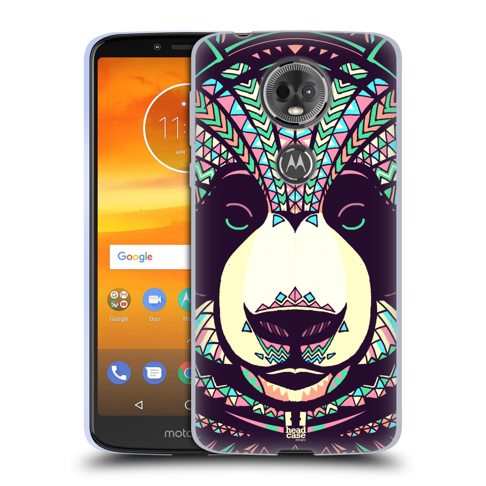 Silikonové pouzdro na mobil Motorola Moto E5 Plus - Head Case - AZTEC PANDA