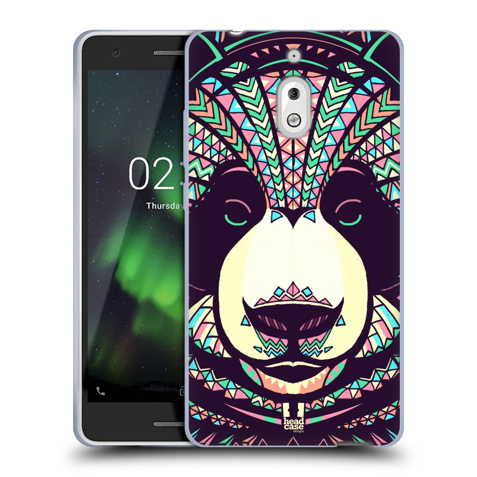 Silikonové pouzdro na mobil Nokia 2.1 - Head Case - AZTEC PANDA
