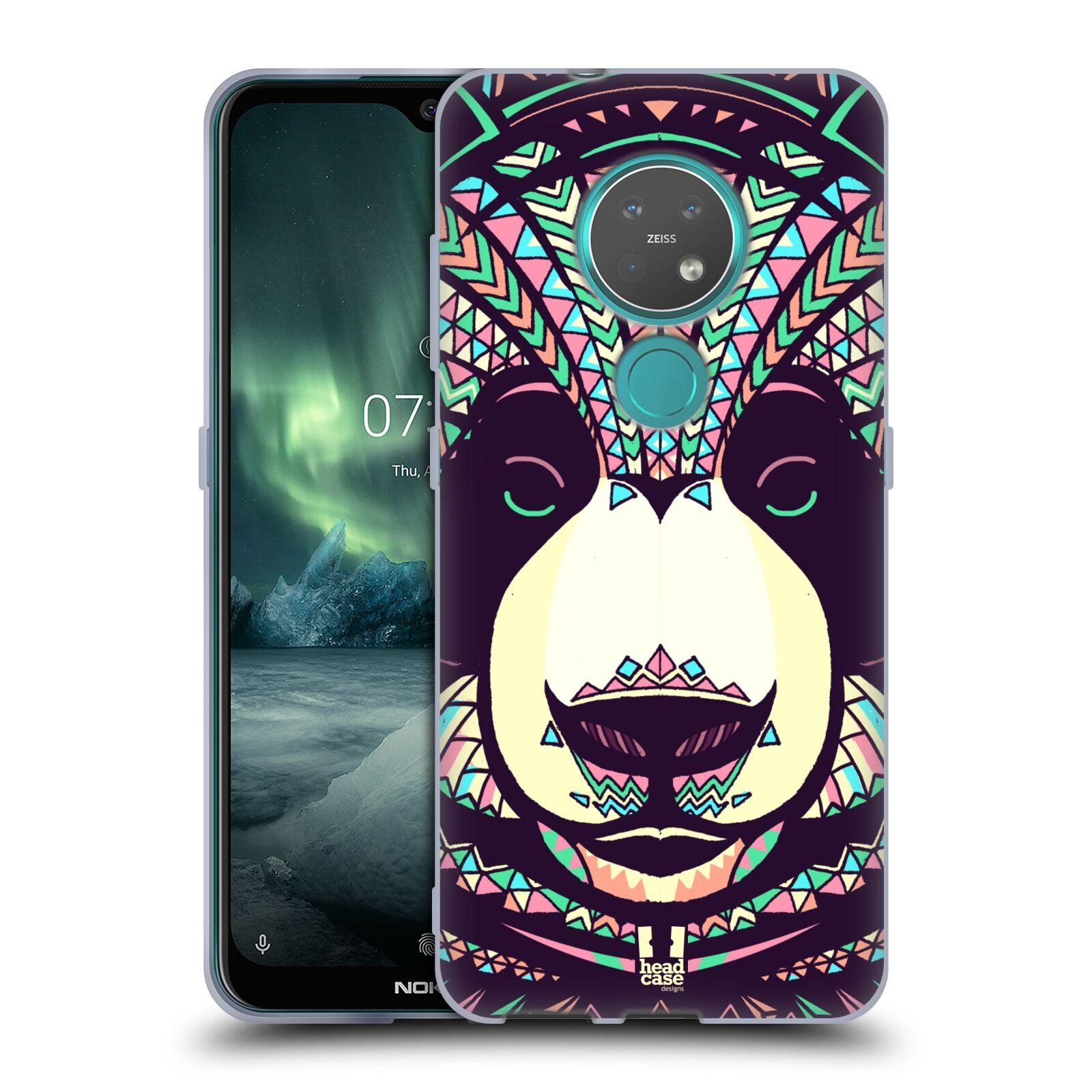 Silikonové pouzdro na mobil Nokia 6.2 - Head Case - AZTEC PANDA