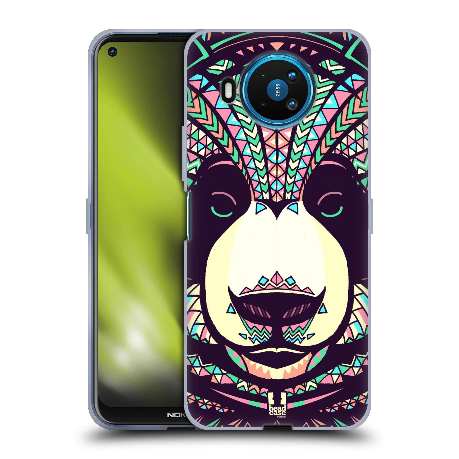 Silikonové pouzdro na mobil Nokia 8.3 5G - Head Case - AZTEC PANDA