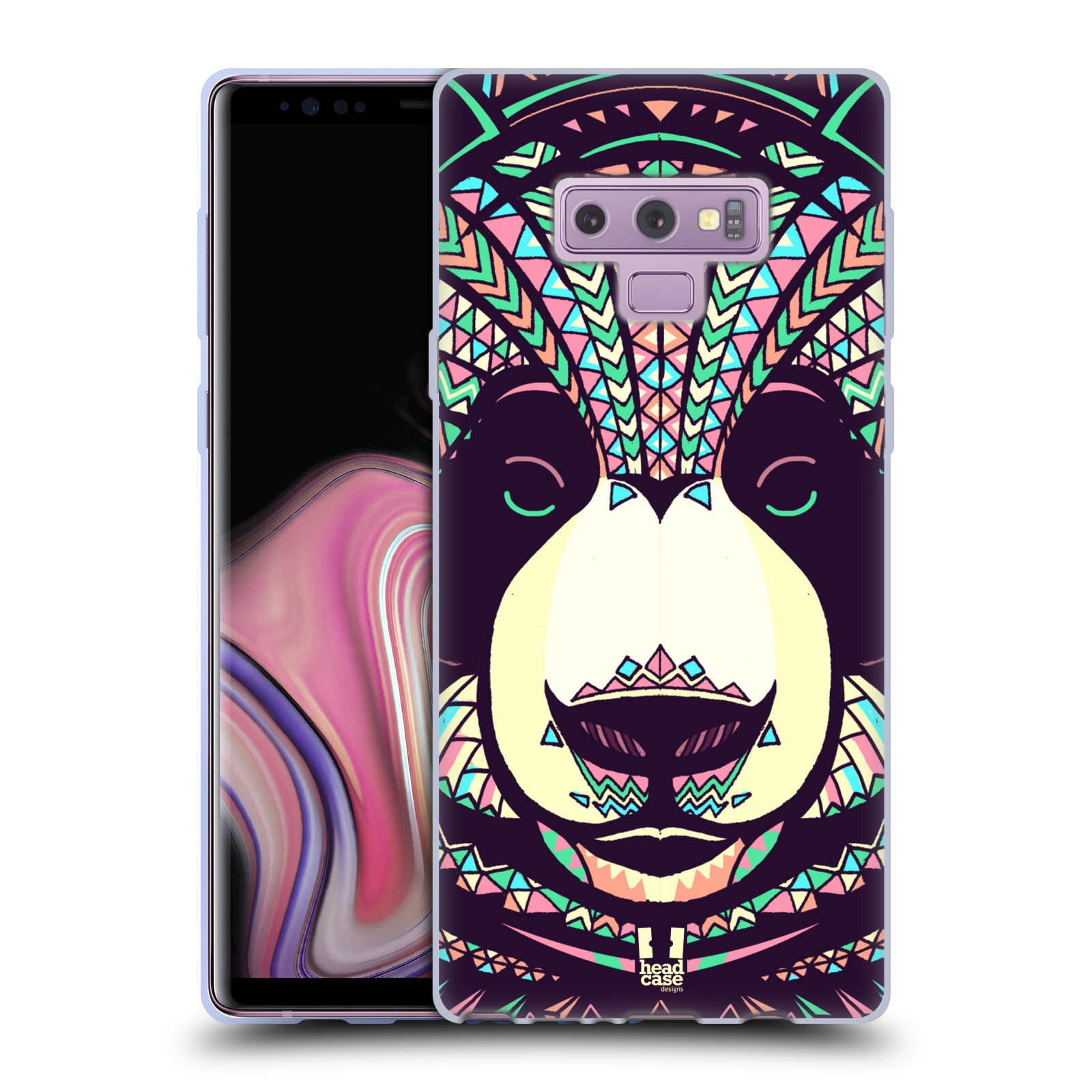 Silikonové pouzdro na mobil Samsung Galaxy Note 9 - Head Case - AZTEC PANDA