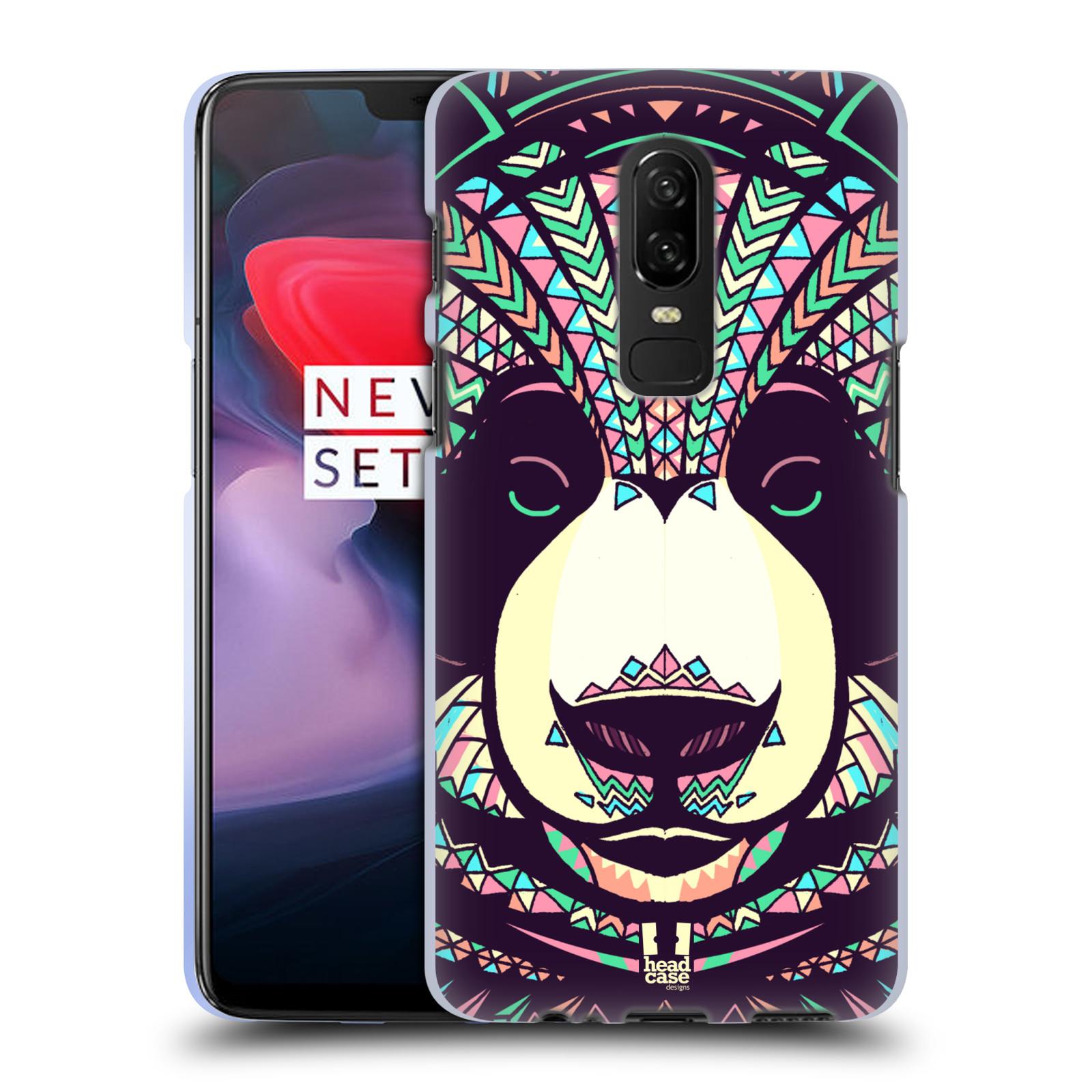 Silikonové pouzdro na mobil OnePlus 6 - Head Case - AZTEC PANDA