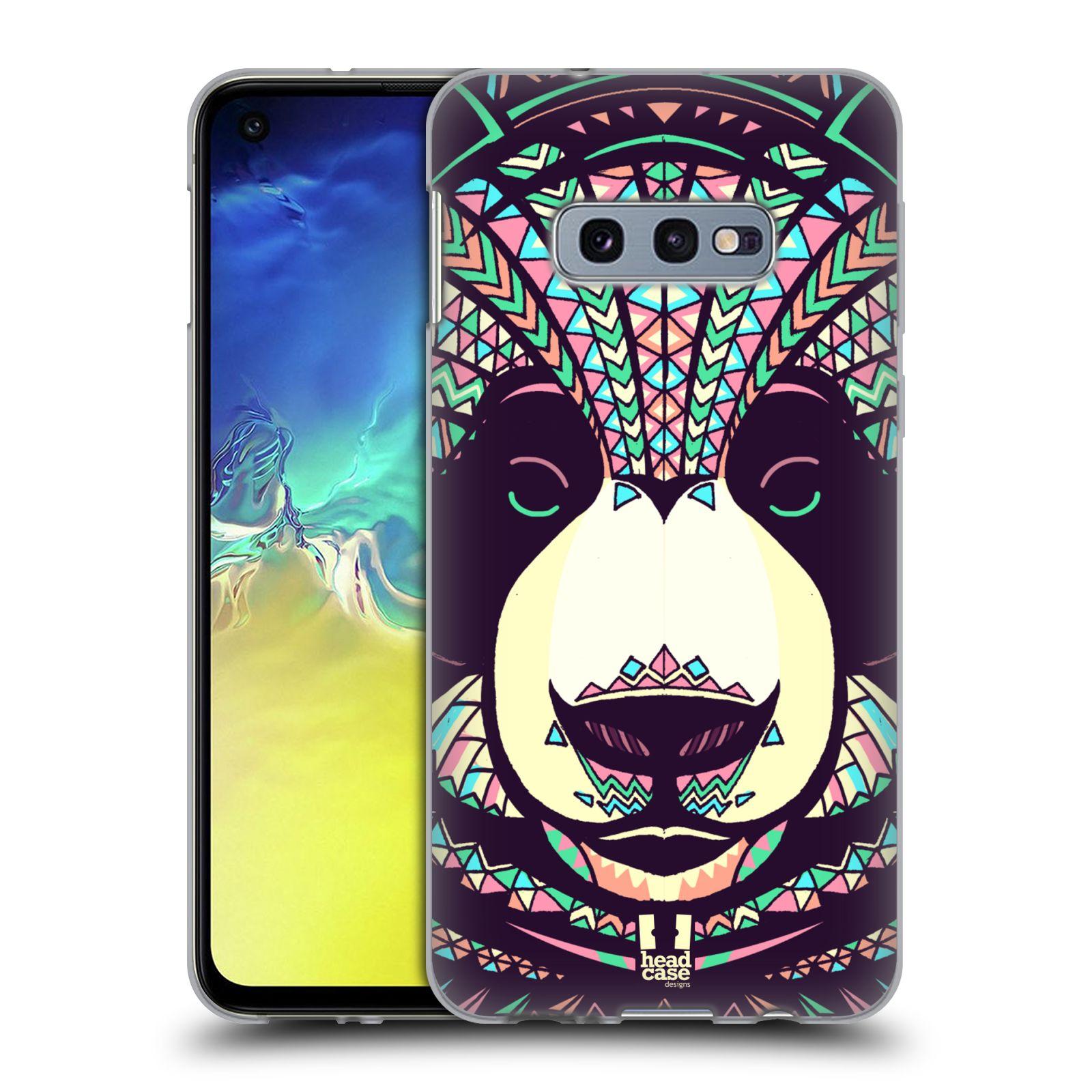 Silikonové pouzdro na mobil Samsung Galaxy S10e - Head Case - AZTEC PANDA