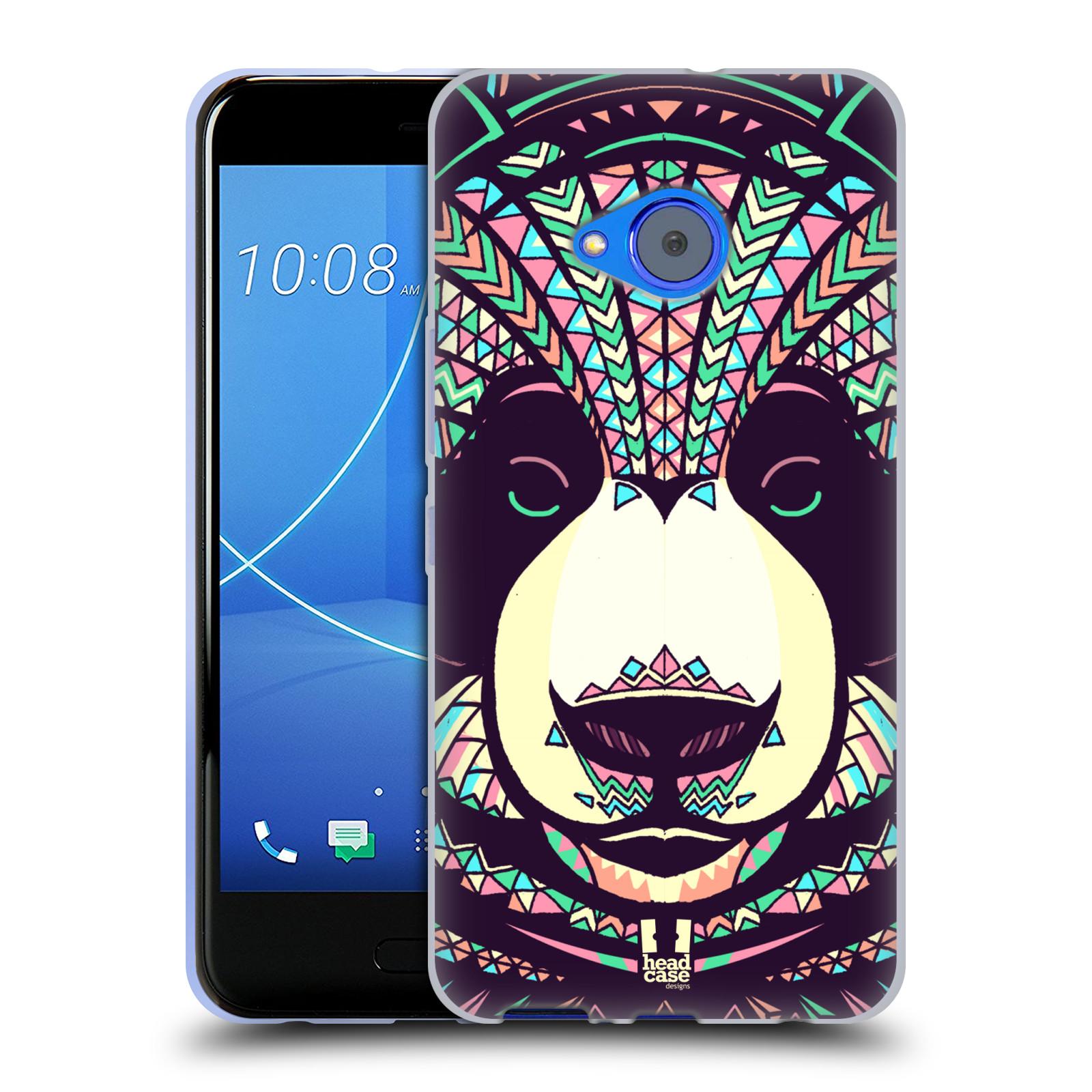 Silikonové pouzdro na mobil HTC U11 Life - Head Case - AZTEC PANDA
