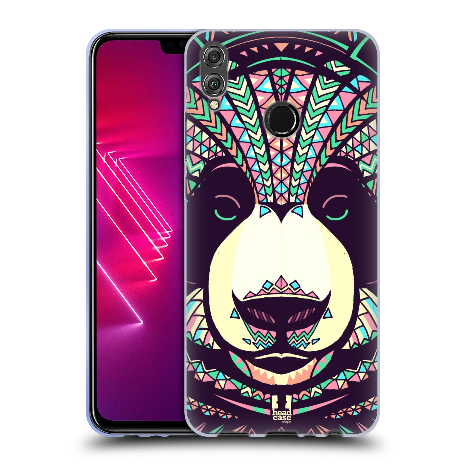 Silikonové pouzdro na mobil Honor View 10 Lite - Head Case - AZTEC PANDA