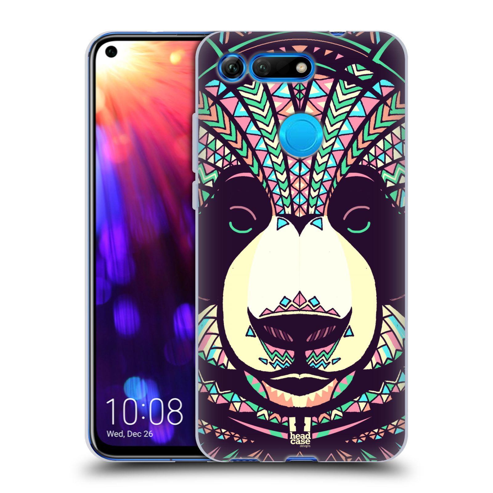 Silikonové pouzdro na mobil Honor View 20 - Head Case - AZTEC PANDA