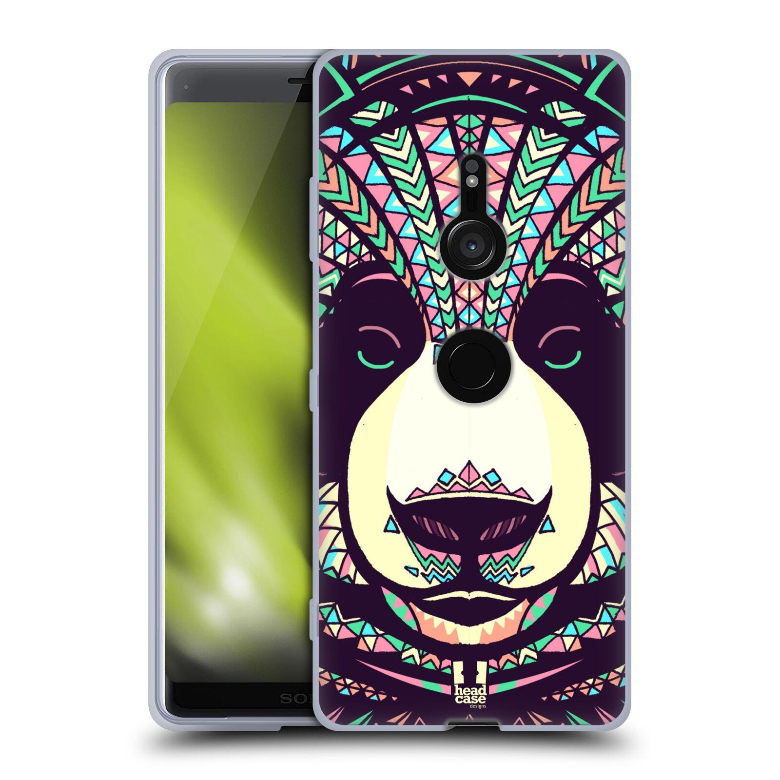 Silikonové pouzdro na mobil Sony Xperia XZ3 - Head Case - AZTEC PANDA
