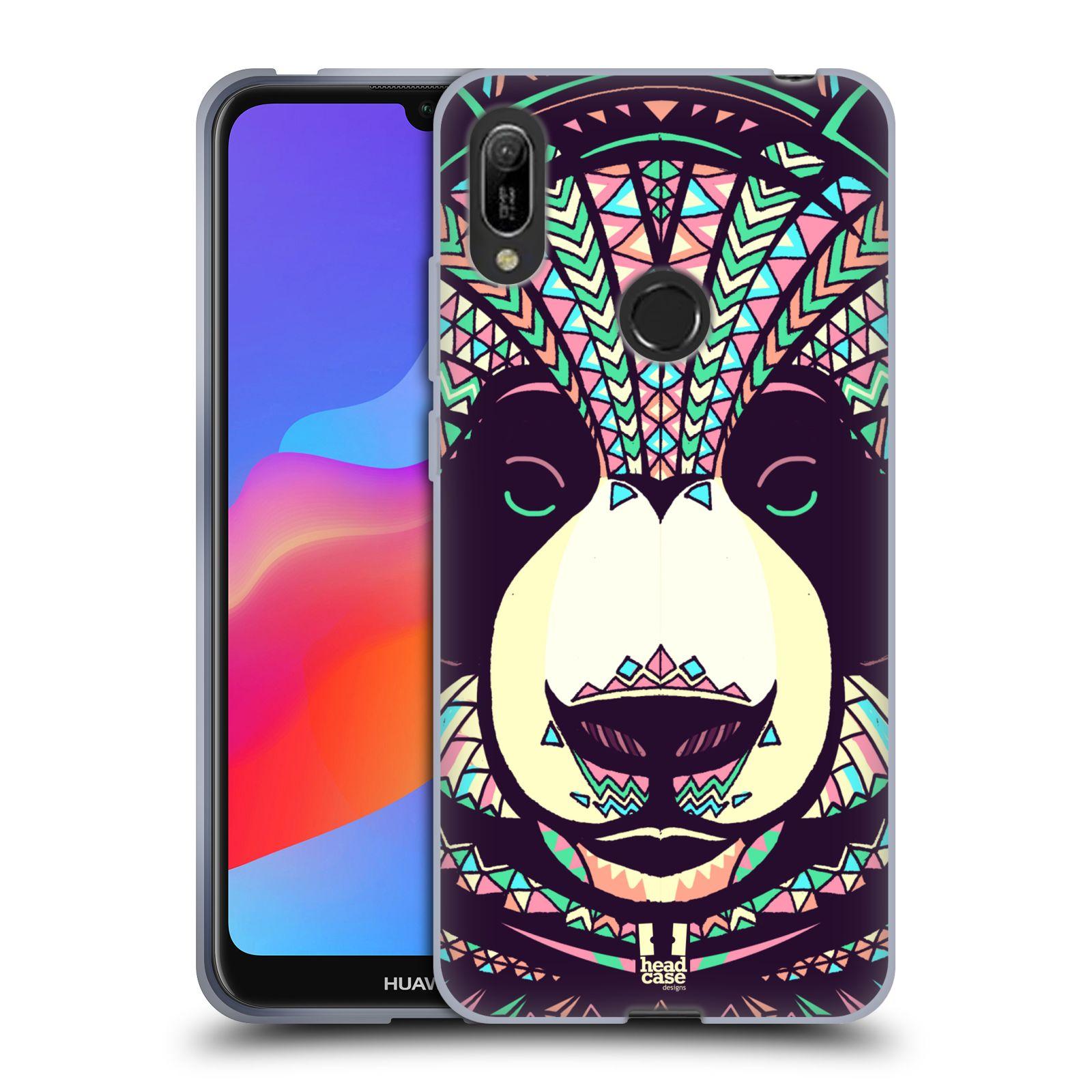 Silikonové pouzdro na mobil Huawei Y6 (2019) - Head Case - AZTEC PANDA