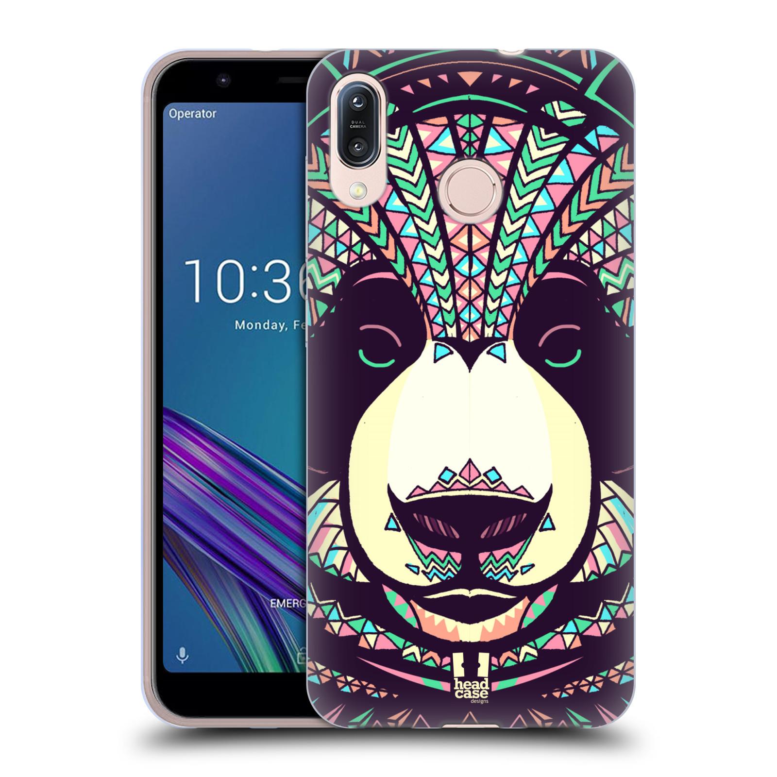 Silikonové pouzdro na mobil Asus Zenfone Max M1 ZB555KL - Head Case - AZTEC PANDA