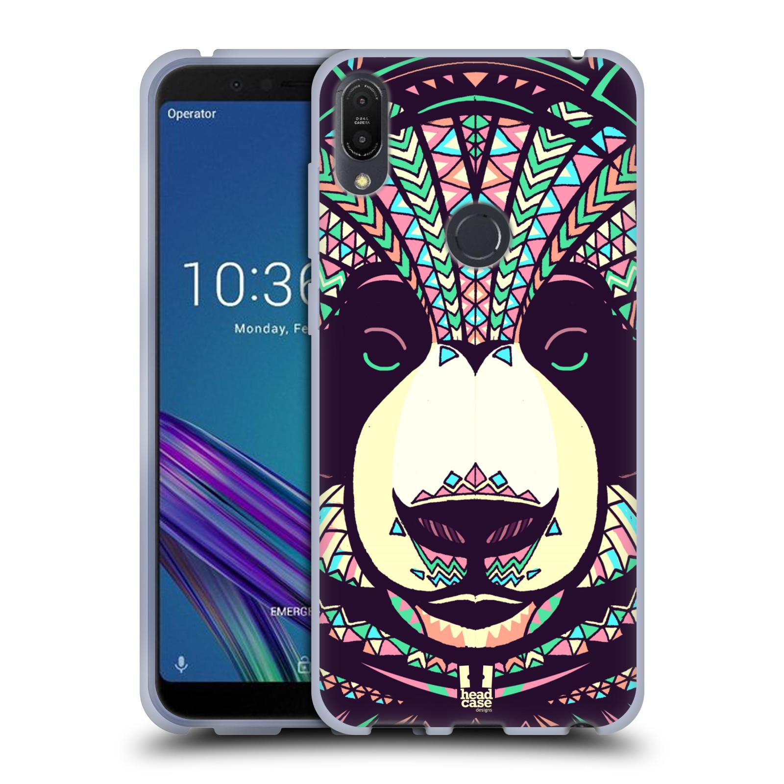 Silikonové pouzdro na mobil Asus ZenFone Max Pro (M1) - Head Case - AZTEC PANDA