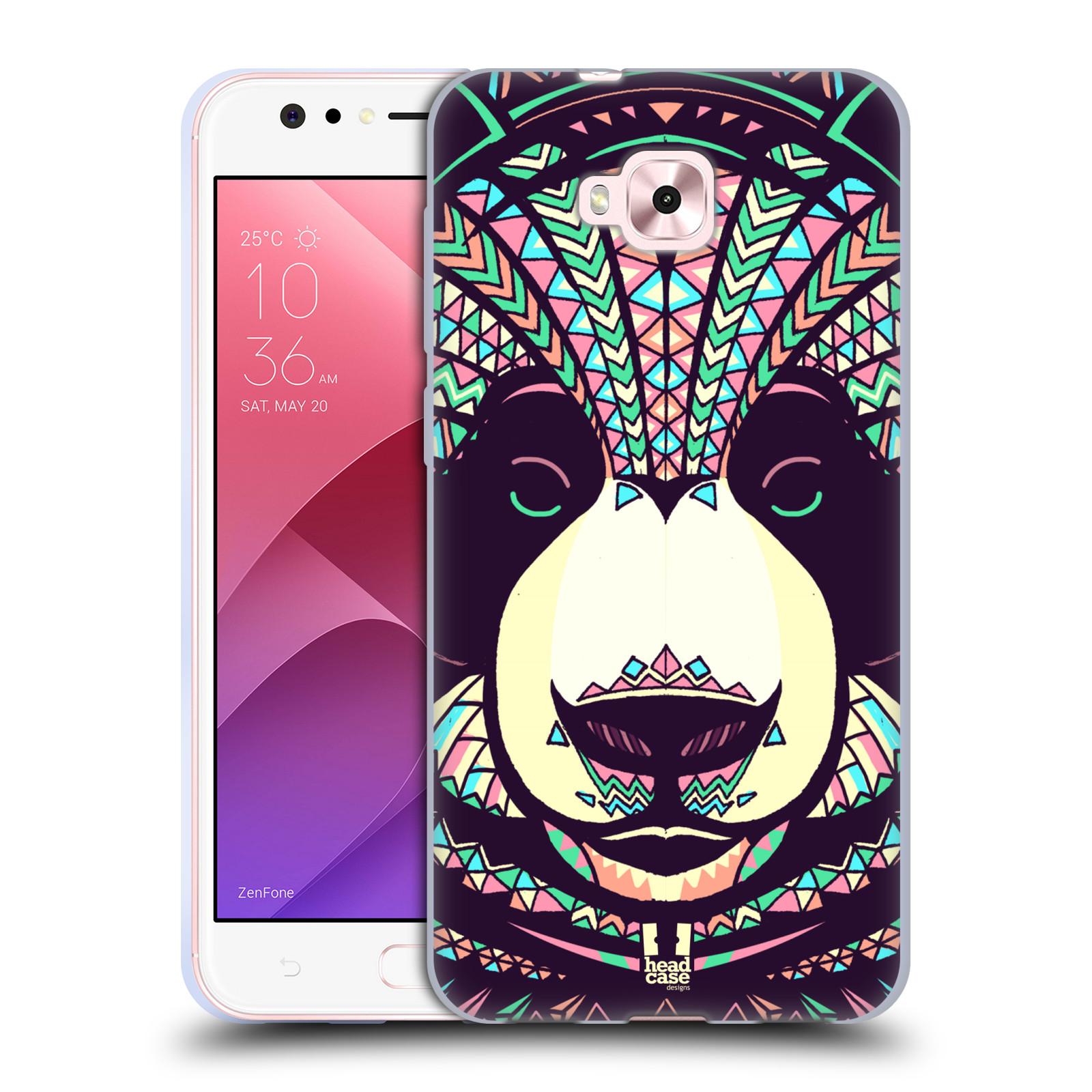 Silikonové pouzdro na mobil Asus Zenfone 4 Selfie ZD553KL - Head Case - AZTEC PANDA