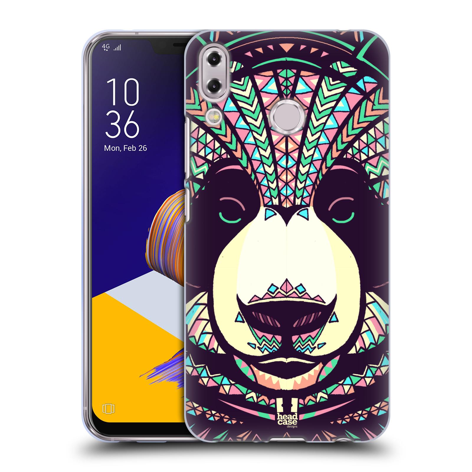 Silikonové pouzdro na mobil Asus Zenfone 5z ZS620KL - Head Case - AZTEC PANDA
