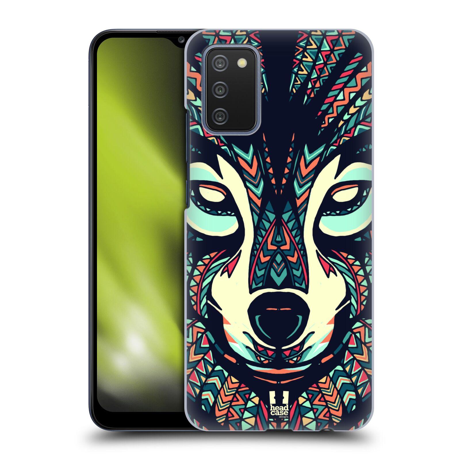 Plastové pouzdro na mobil Samsung Galaxy A02s - Head Case - AZTEC VLK