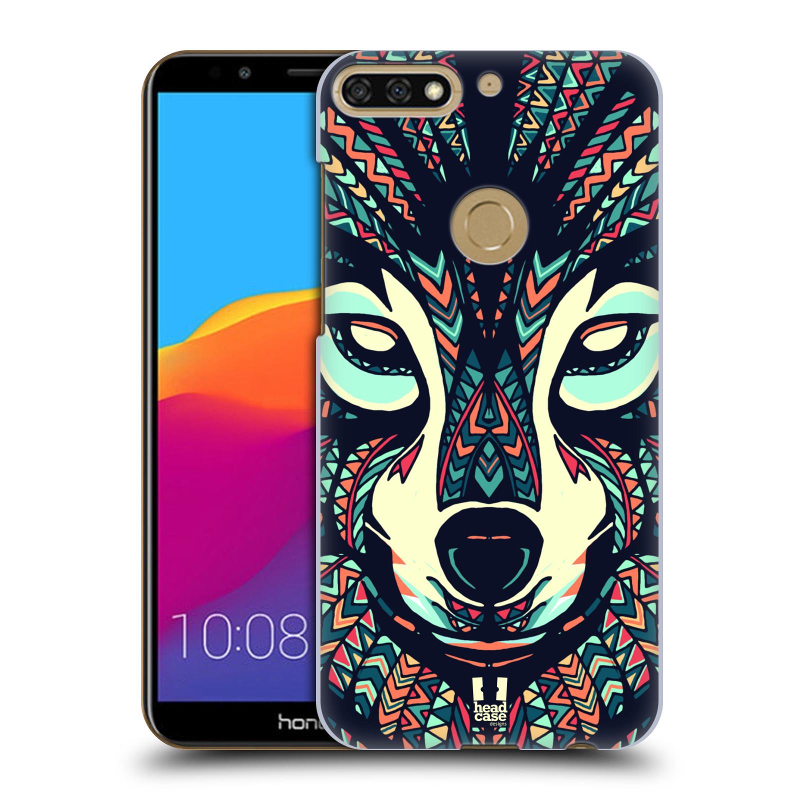 Plastové pouzdro na mobil Huawei Y7 Prime 2018 - Head Case - AZTEC VLK