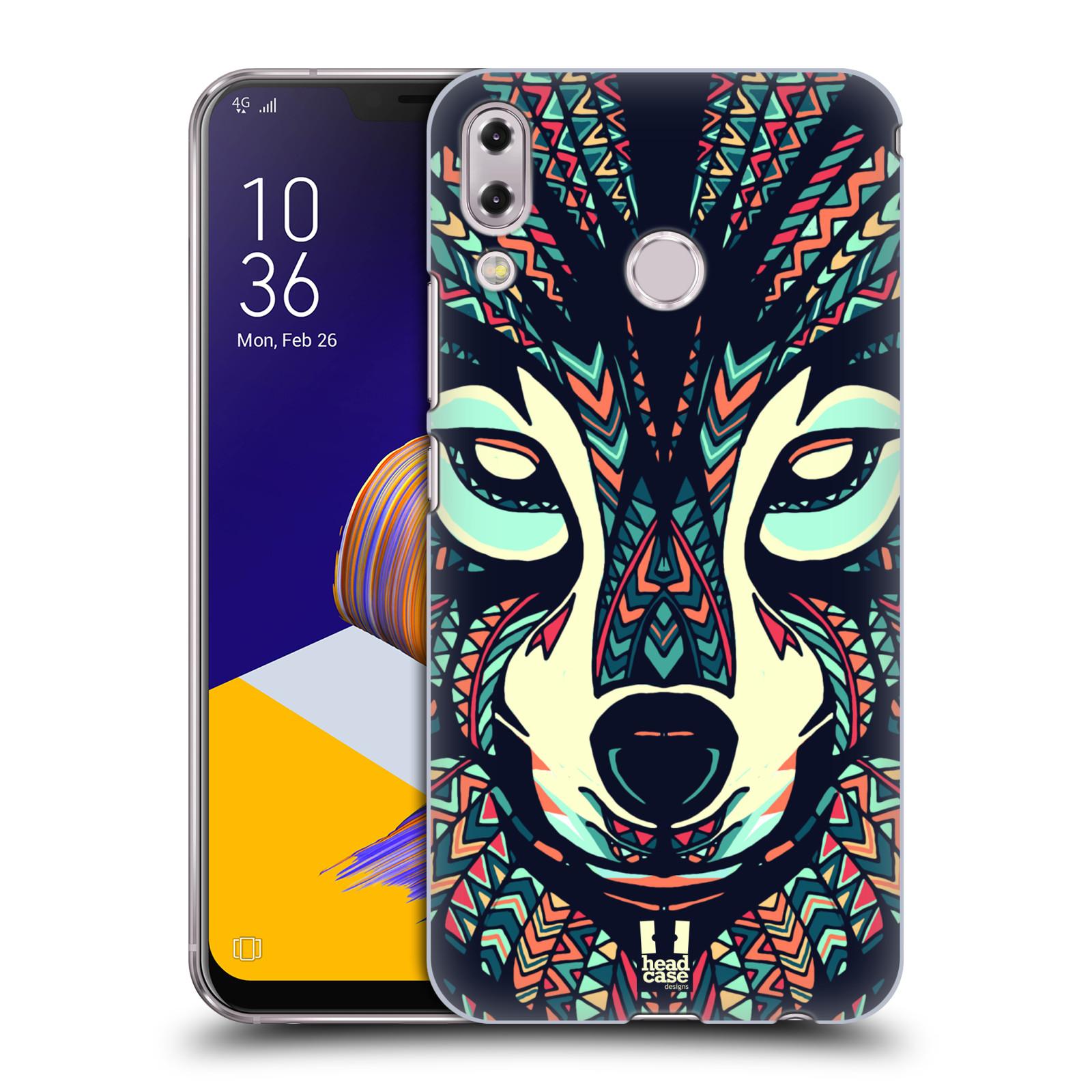 Plastové pouzdro na mobil Asus Zenfone 5z ZS620KL - Head Case - AZTEC VLK