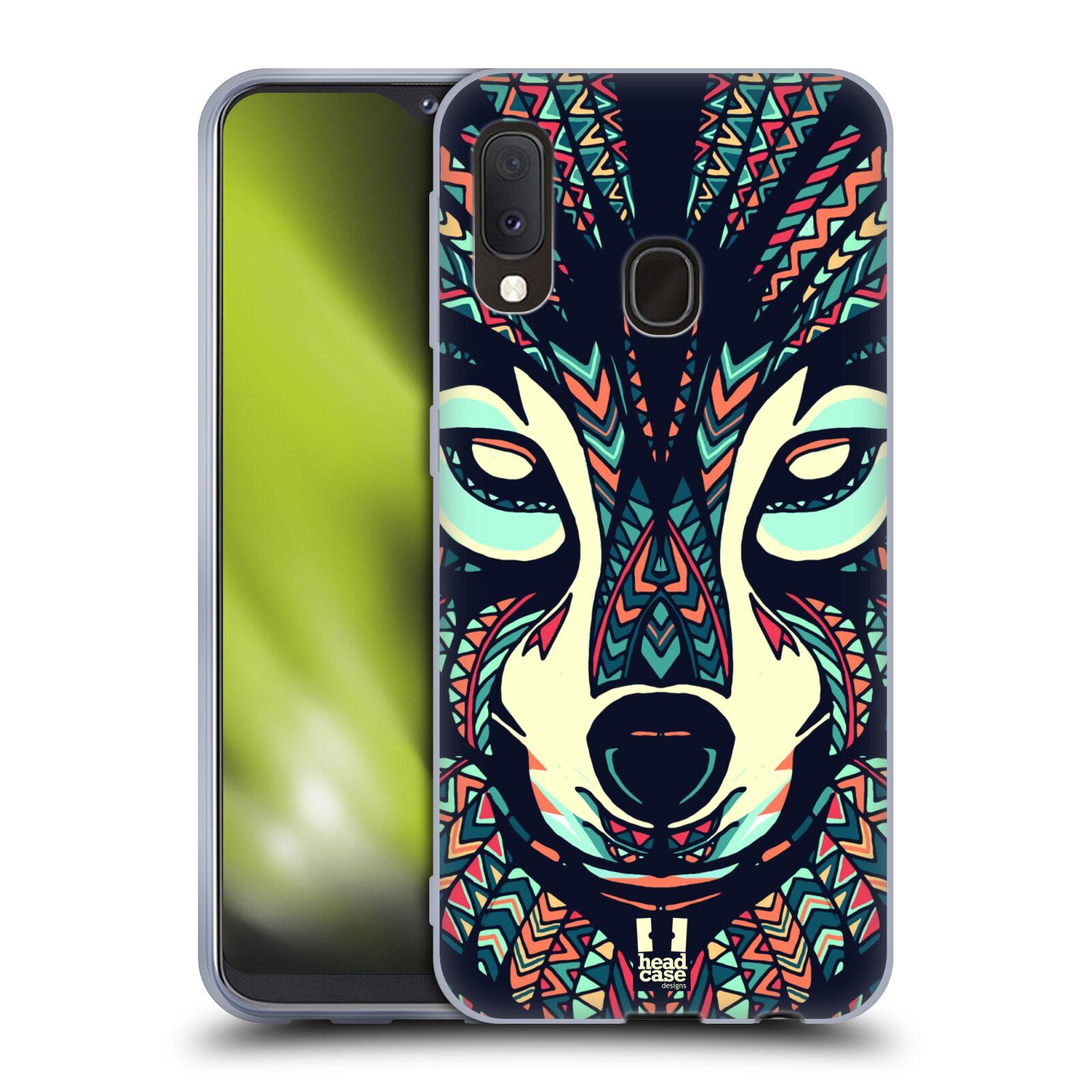Silikonové pouzdro na mobil Samsung Galaxy A20e - Head Case - AZTEC VLK