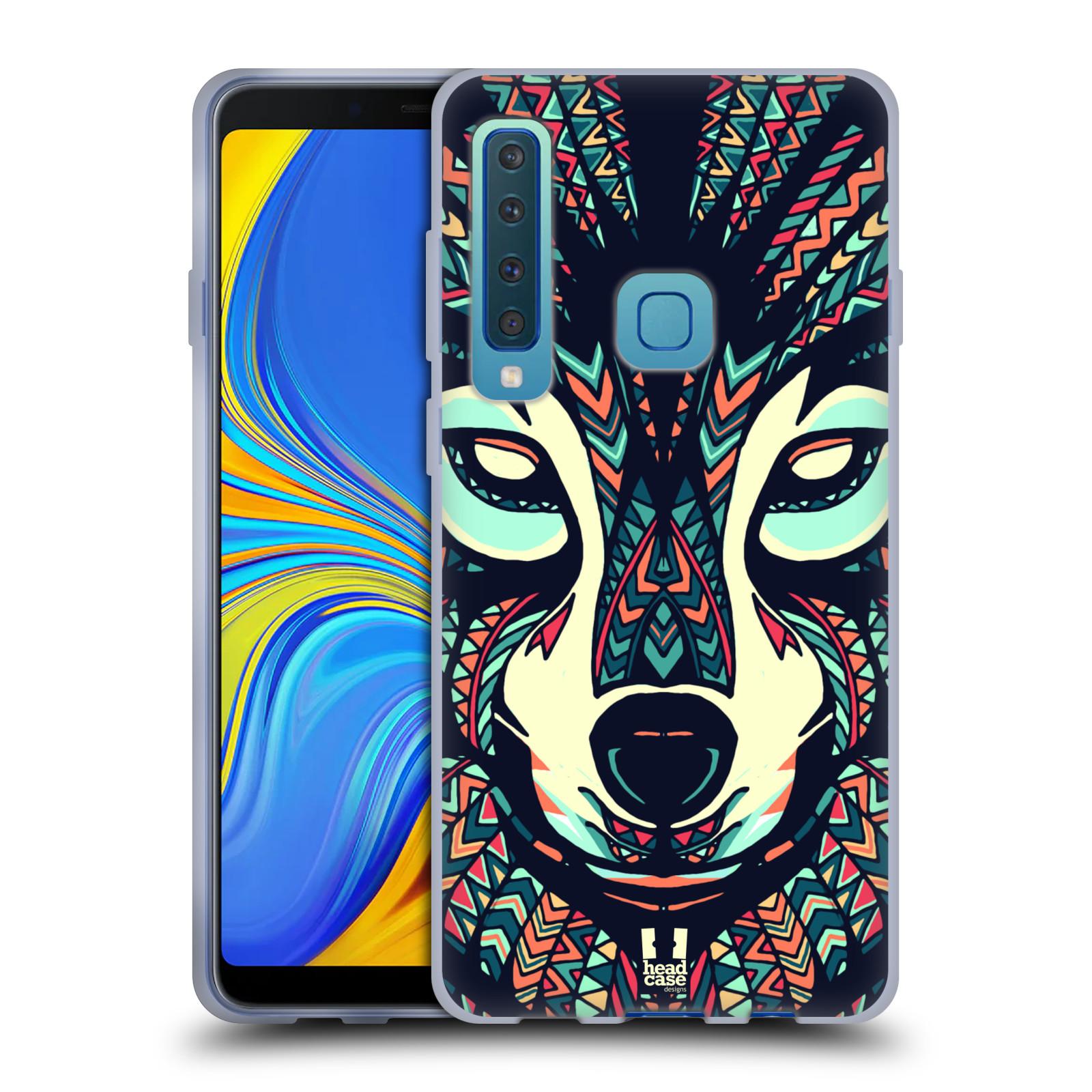 Silikonové pouzdro na mobil Samsung Galaxy A9 (2018) - Head Case - AZTEC VLK