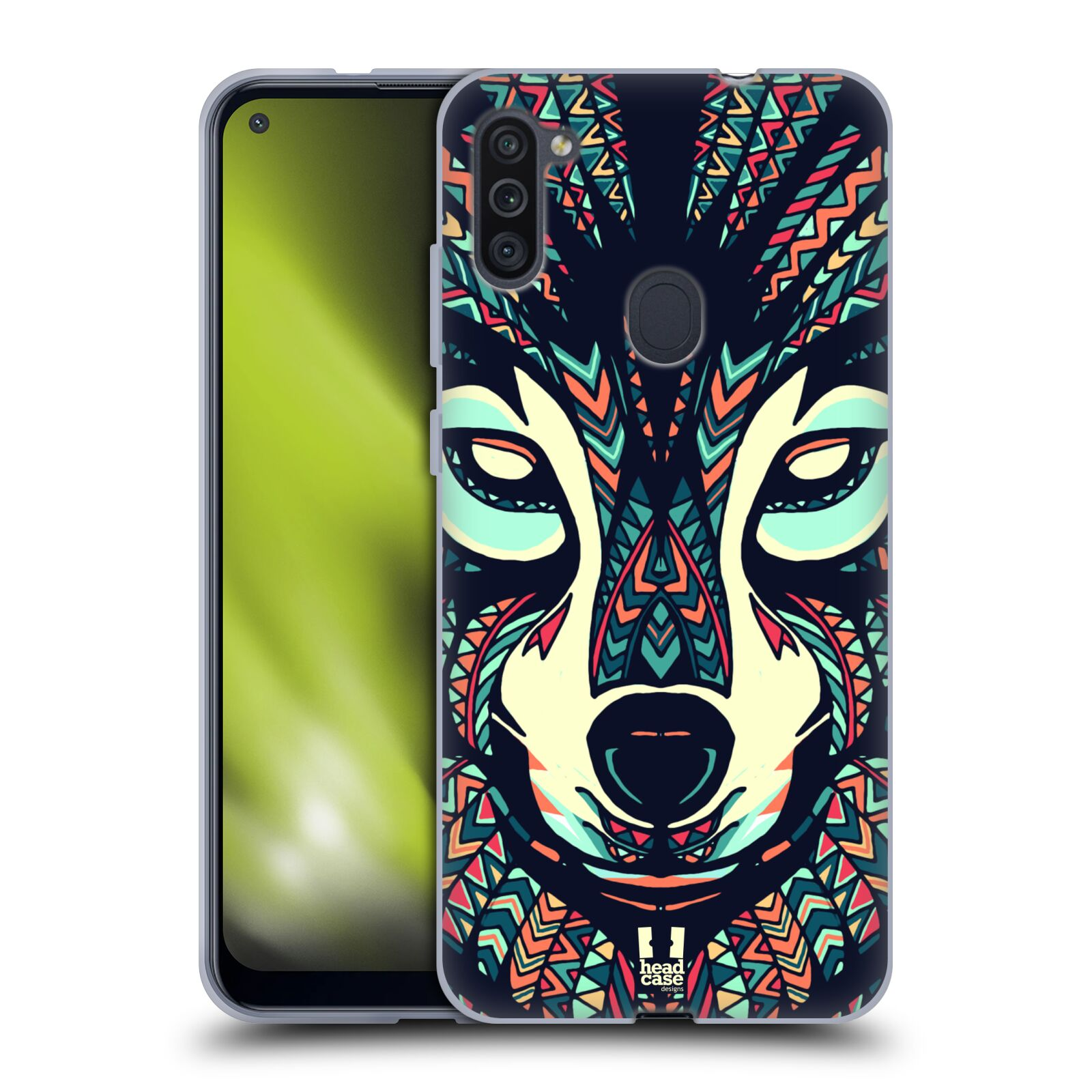 Silikonové pouzdro na mobil Samsung Galaxy M11 - Head Case - AZTEC VLK
