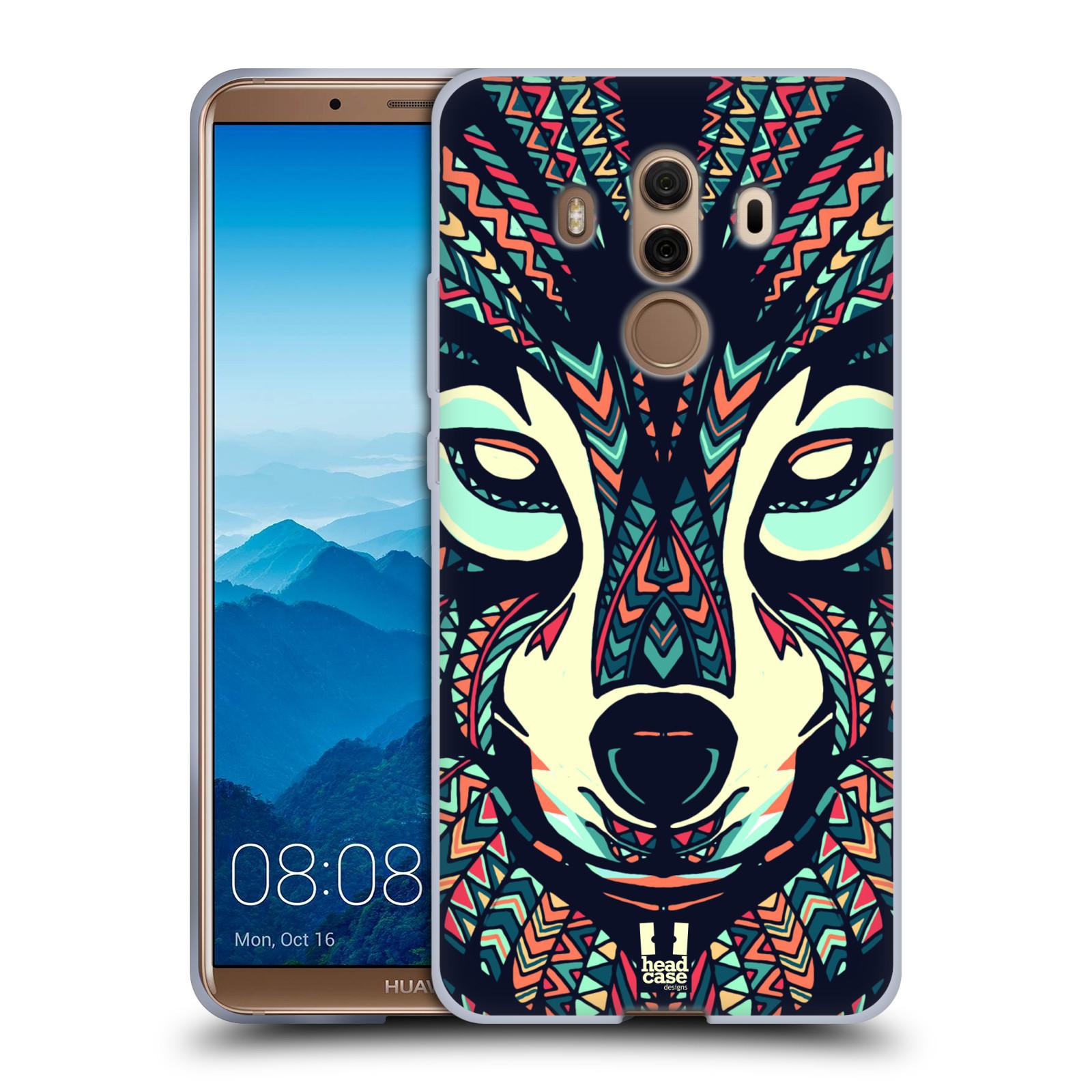 Silikonové pouzdro na mobil Huawei Mate 10 Pro - Head Case - AZTEC VLK