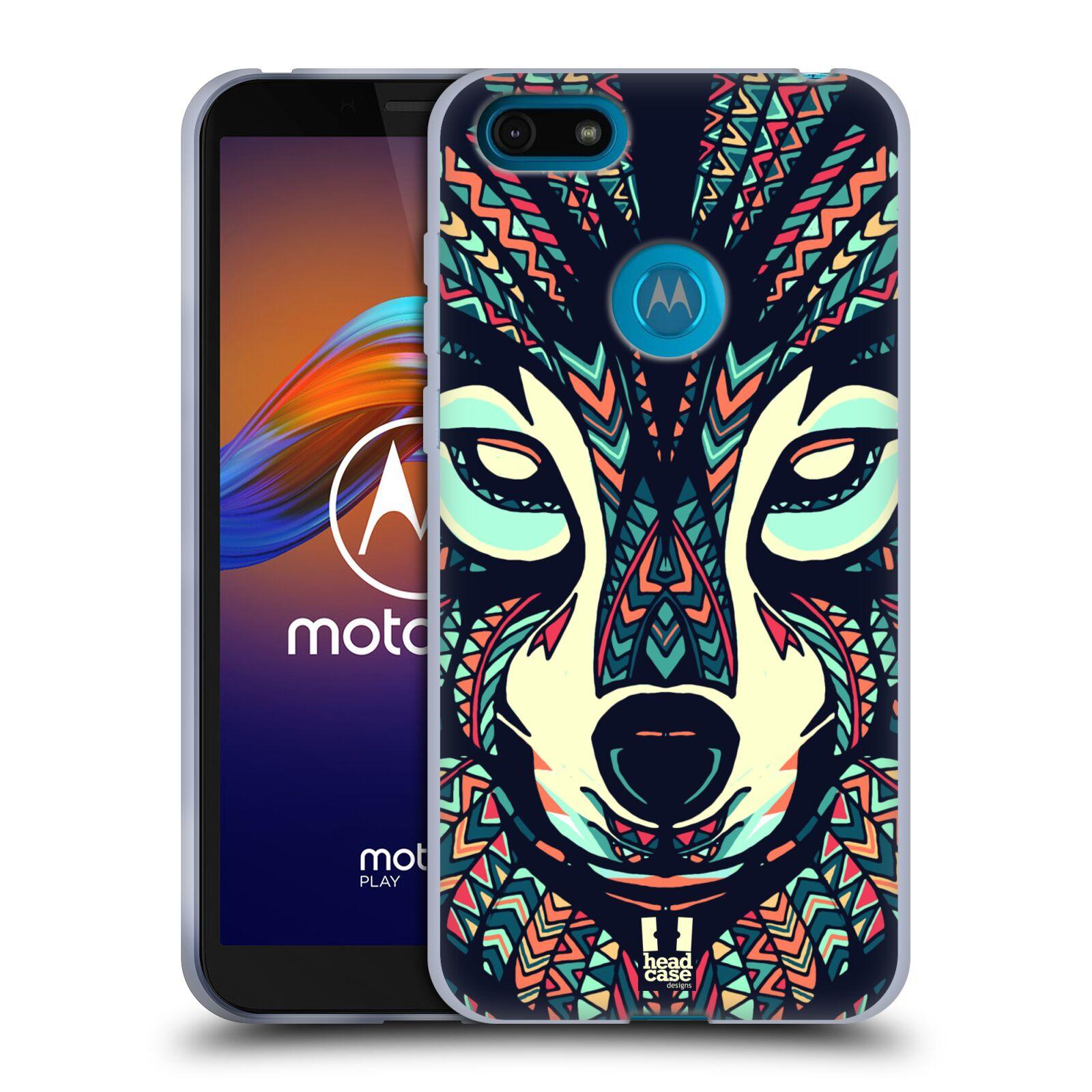 Silikonové pouzdro na mobil Motorola Moto E6 Play - Head Case - AZTEC VLK