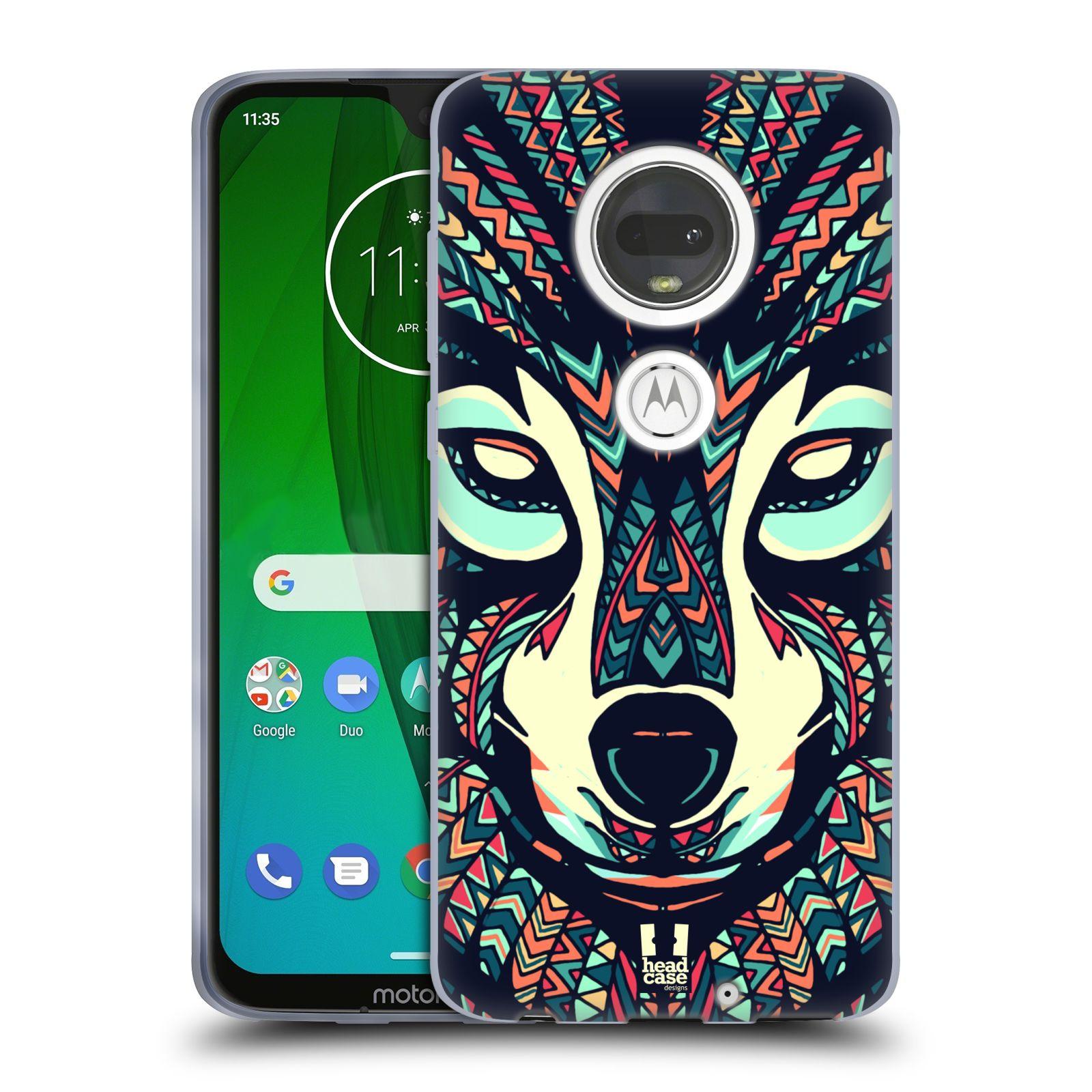 Silikonové pouzdro na mobil Motorola Moto G7 - Head Case - AZTEC VLK