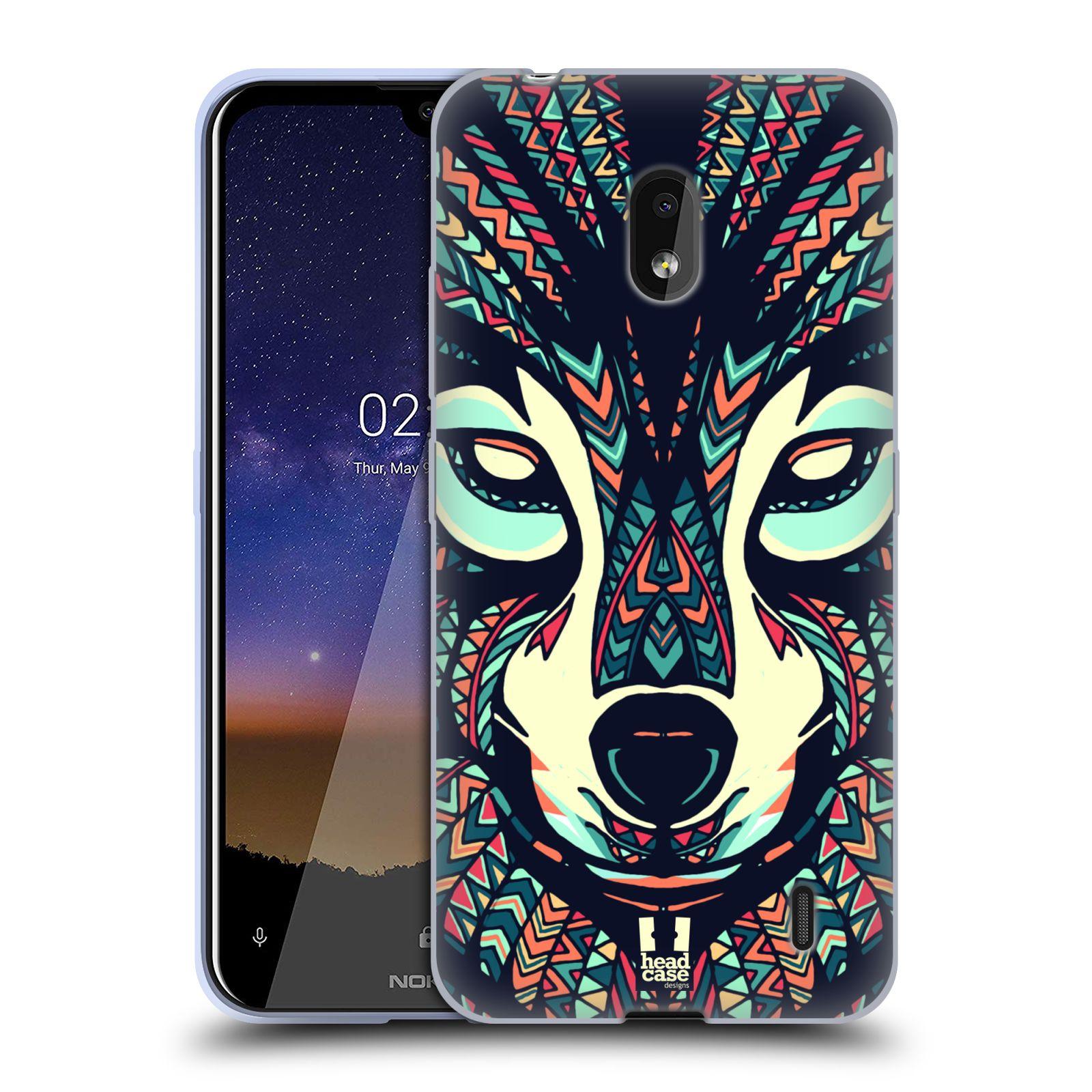 Silikonové pouzdro na mobil Nokia 2.2 - Head Case - AZTEC VLK