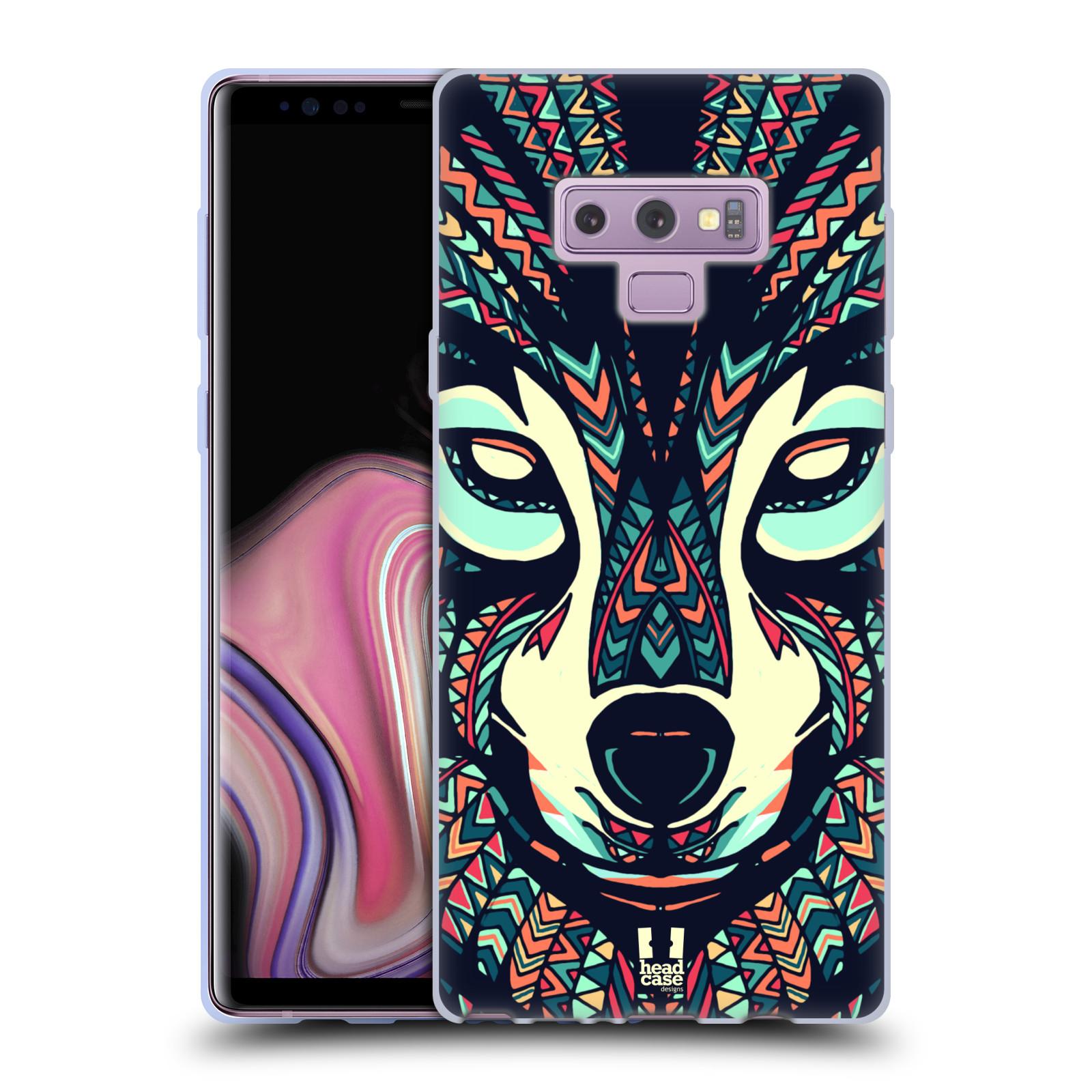 Silikonové pouzdro na mobil Samsung Galaxy Note 9 - Head Case - AZTEC VLK