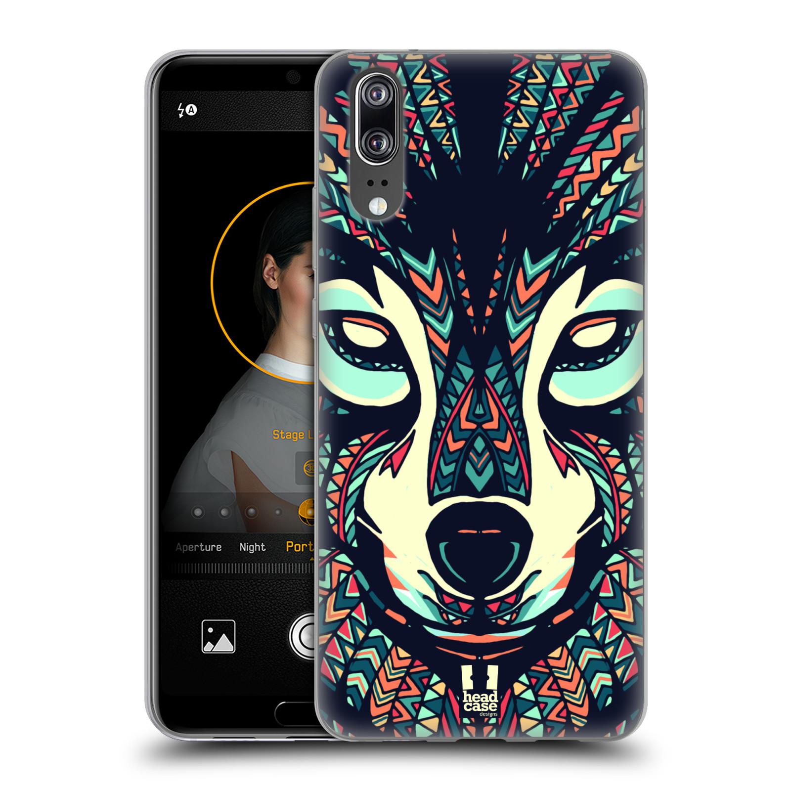 Silikonové pouzdro na mobil Huawei P20 - Head Case - AZTEC VLK